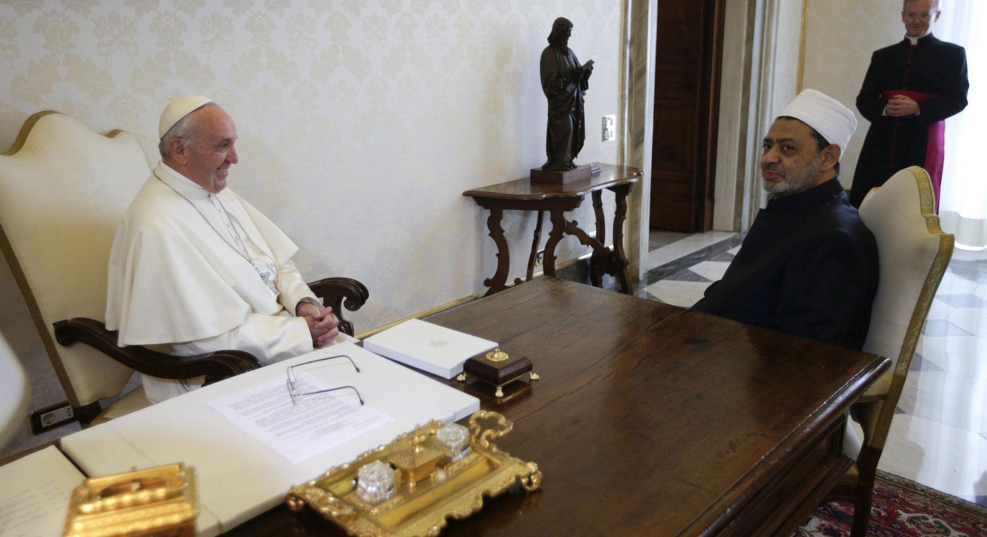 U Vatikanu se razmatra Papin put u Kairo