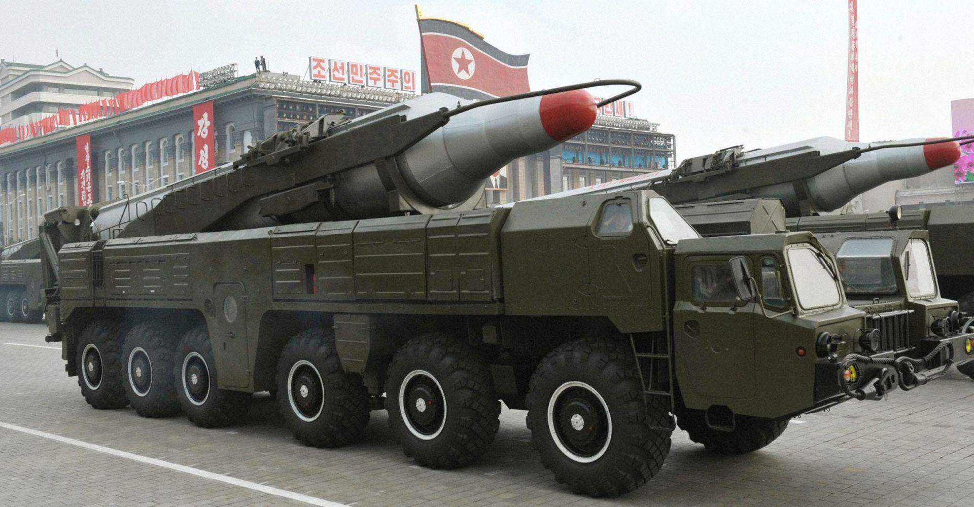 TISAK Washington hakirao sjevernokorejske rakete