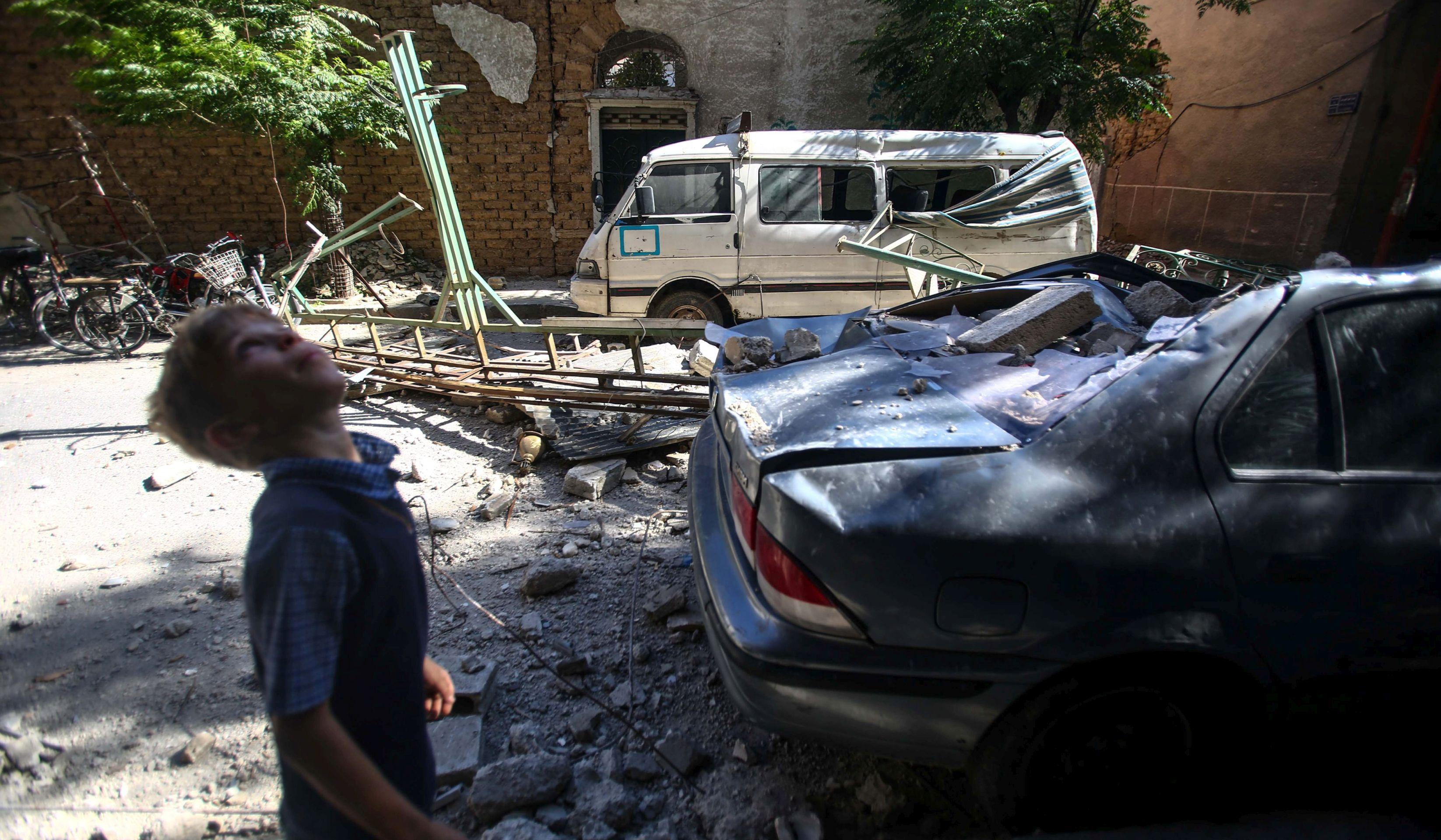 U zračnom napadu na zatvor u Siriji 16 mrtvih