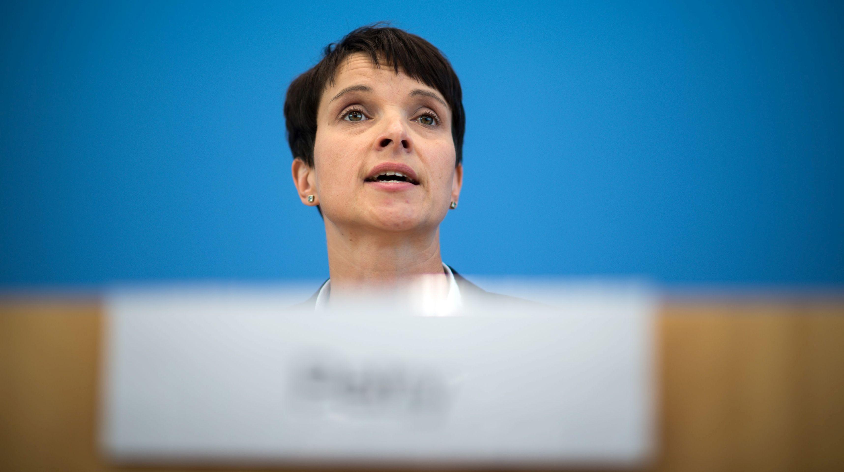 Čelnica njemačke desnopopulističke AfD razmatra izlazak iz politike