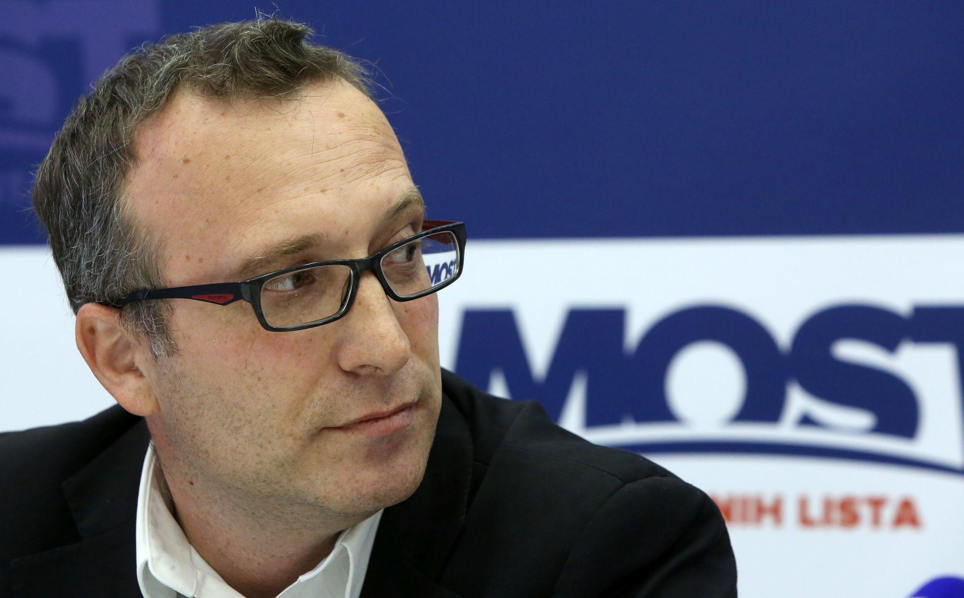 MOST 'Bandić prijedlogom izmjena Statuta pokušava zadržati većinu u Gradskoj skupštini'