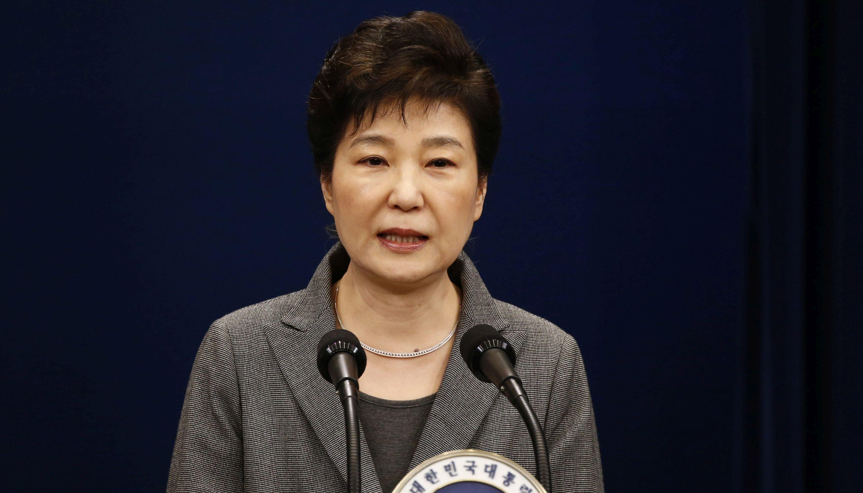Južnokorejska predsjednica žali što nije mogla dovršiti mandat