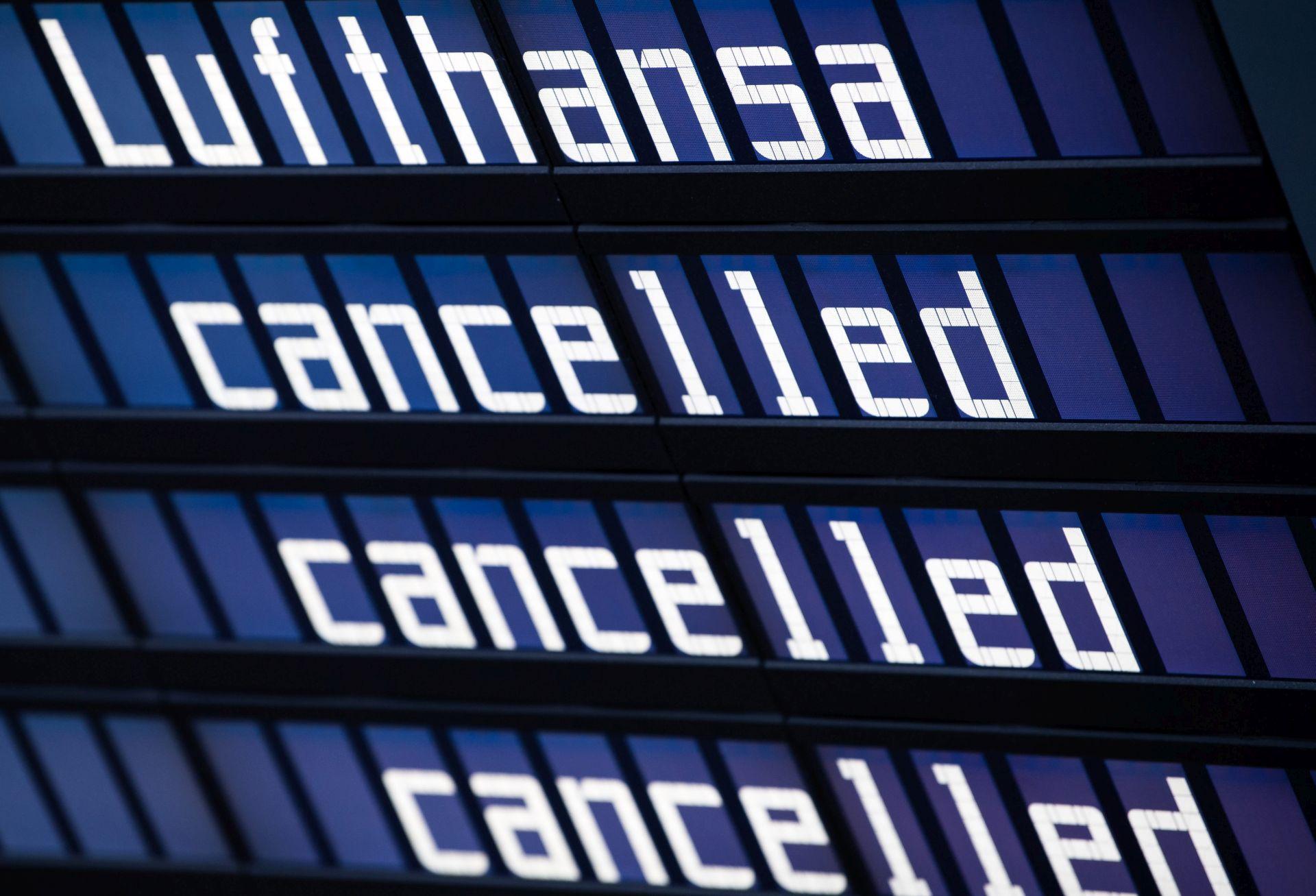 Zbog štrajka u dvije berlinske zračne luke bit će otkazano 650 letova
