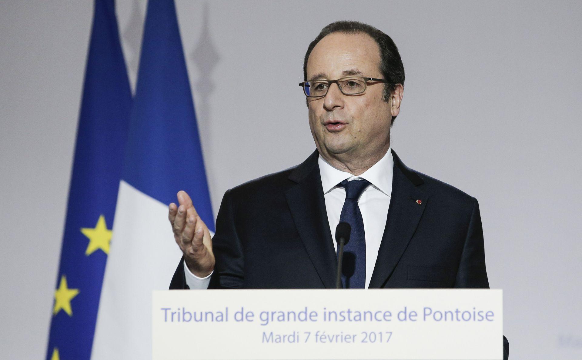 Francois Hollande doputovao u Singapur