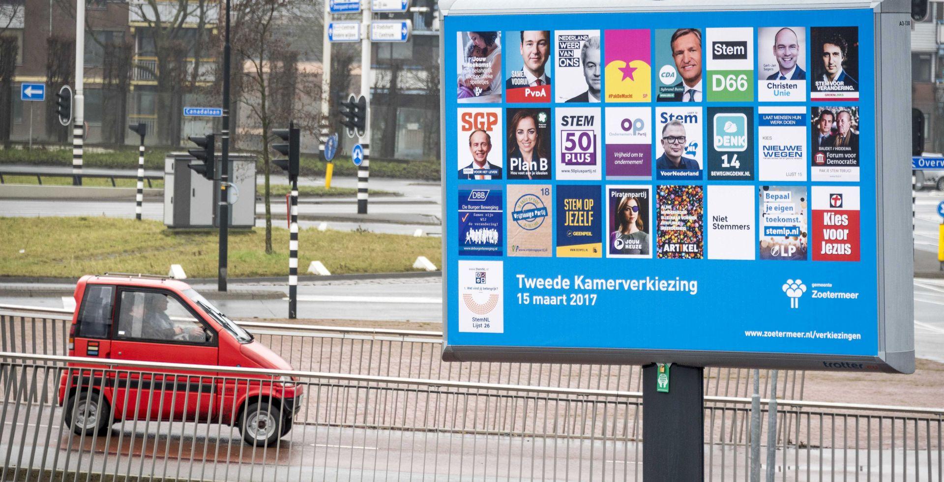 Nizozemci, podijeljeni i neodlučni, u srijedu na izborima