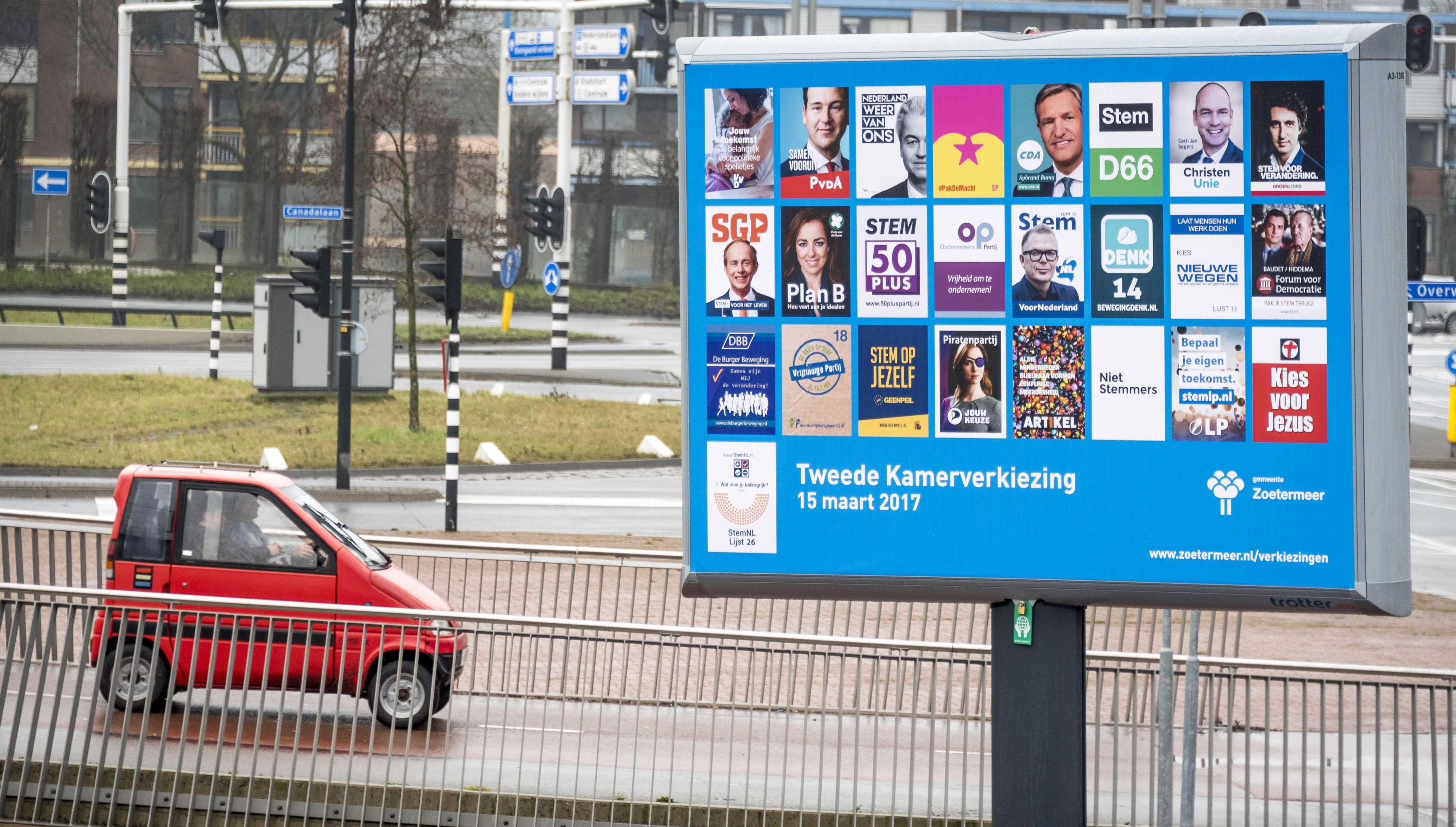 IZBORI U NIZOZEMSKOJ Rutte ima malu prednost pred Wildersom