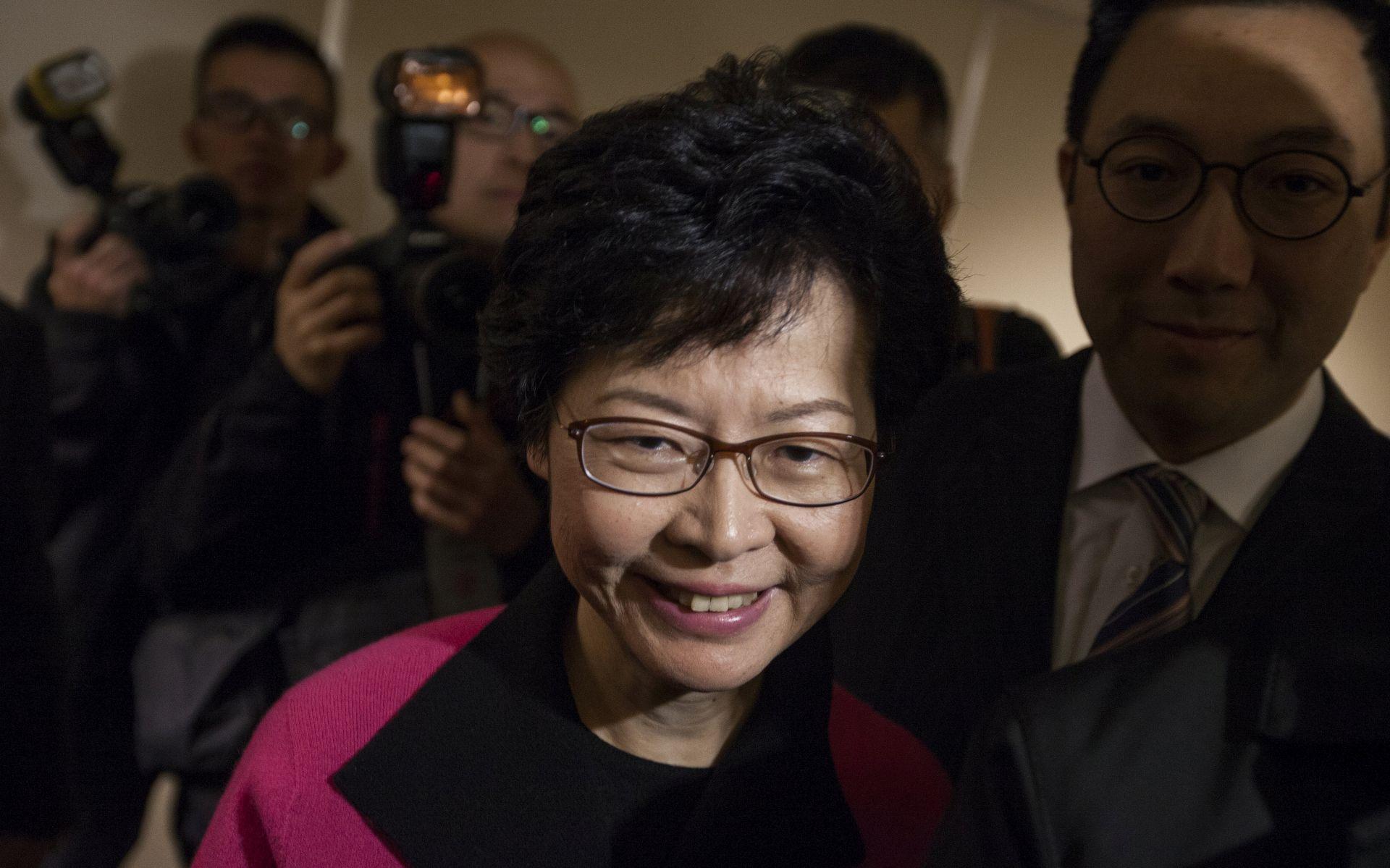 Čelnica Hong Konga isključila svaki ustupak