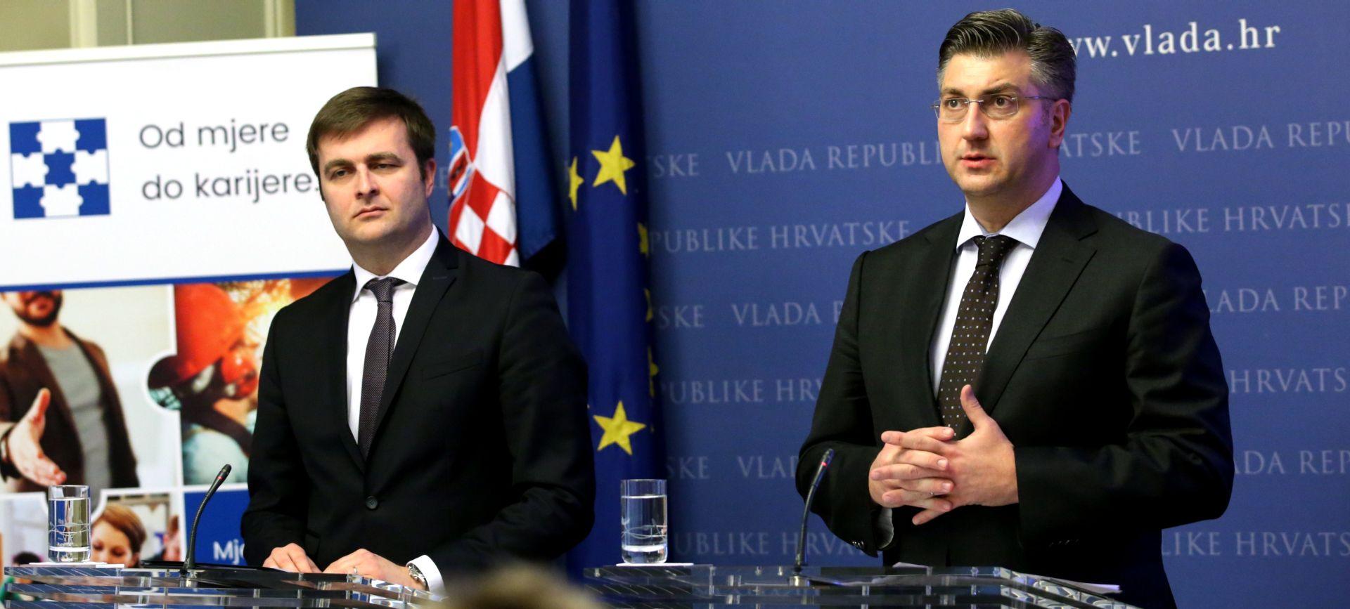 VIDEO: Plenković i Ćorić predstavili mjere za zapošljavanje