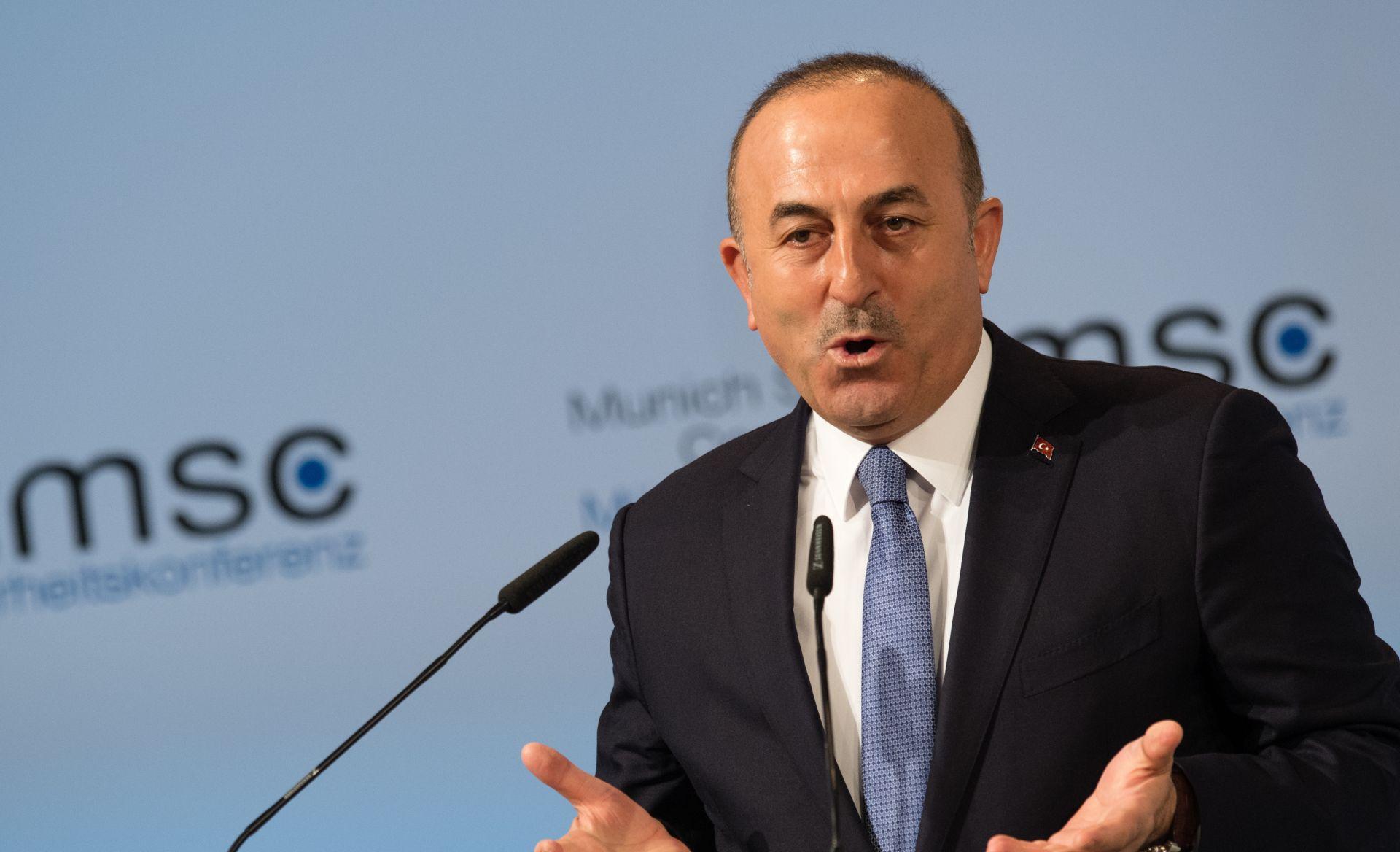 Turski ministar vanjskih poslova optužuje Berlin