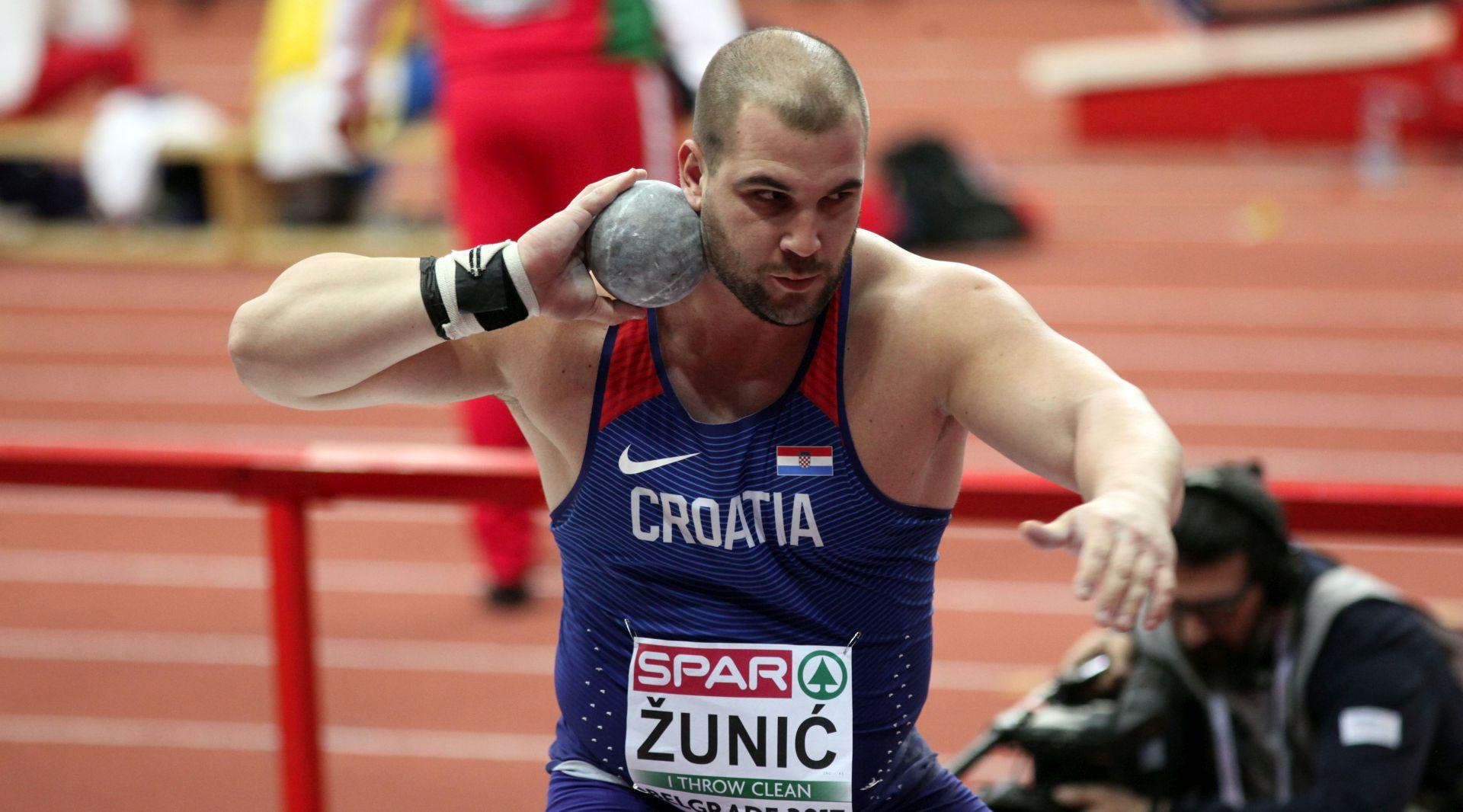 EP Stipe Žunić u finalu bacanja kugle