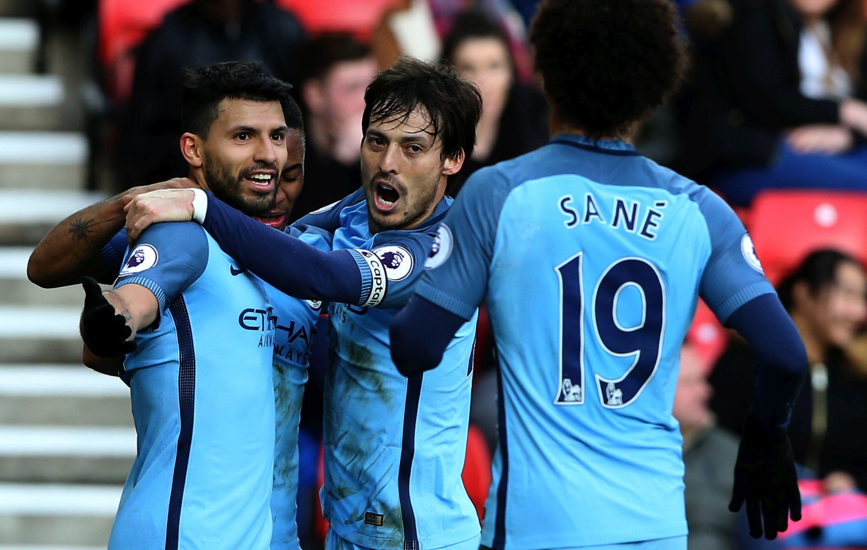 Sunderland – Manchester City 0-2