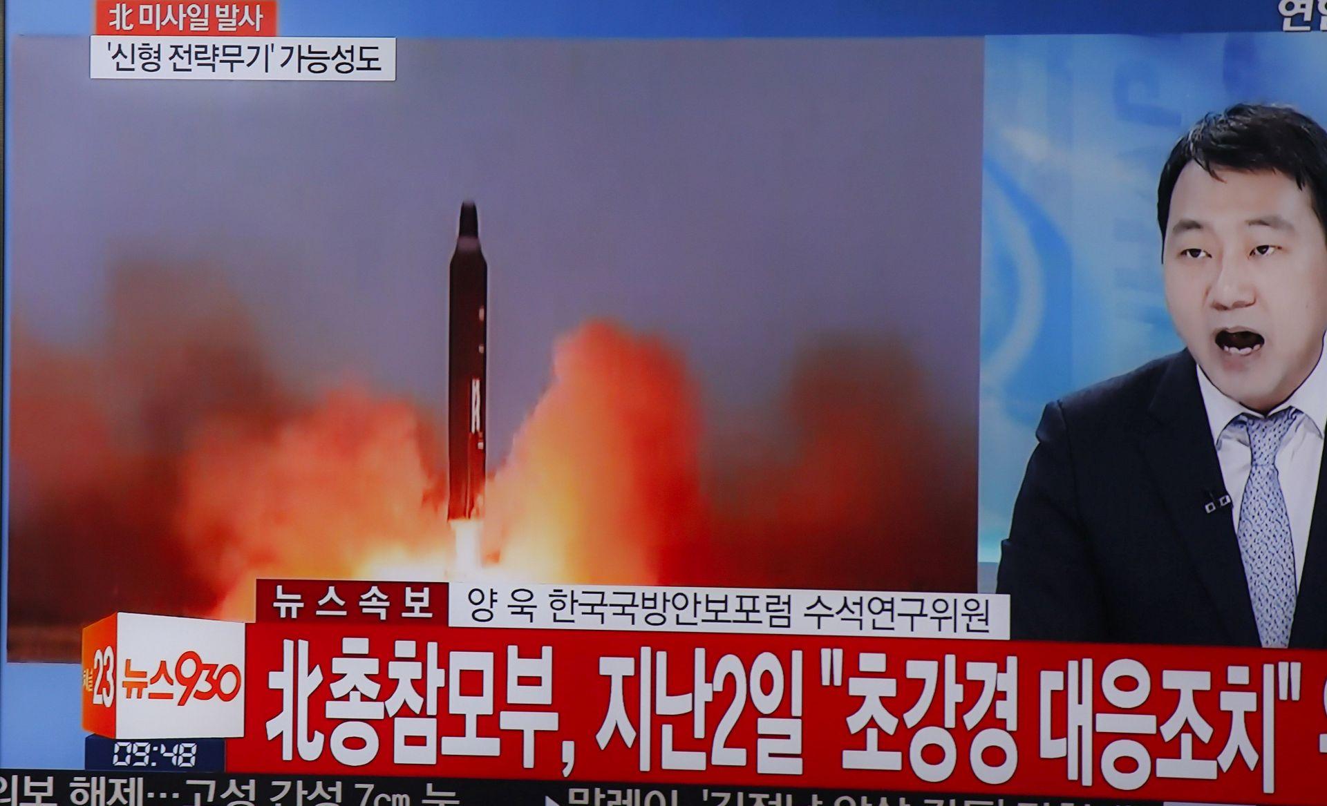 Vijeće sigurnosti UN-a osudilo Sjevernu Koreju zbog lansiranja projektila