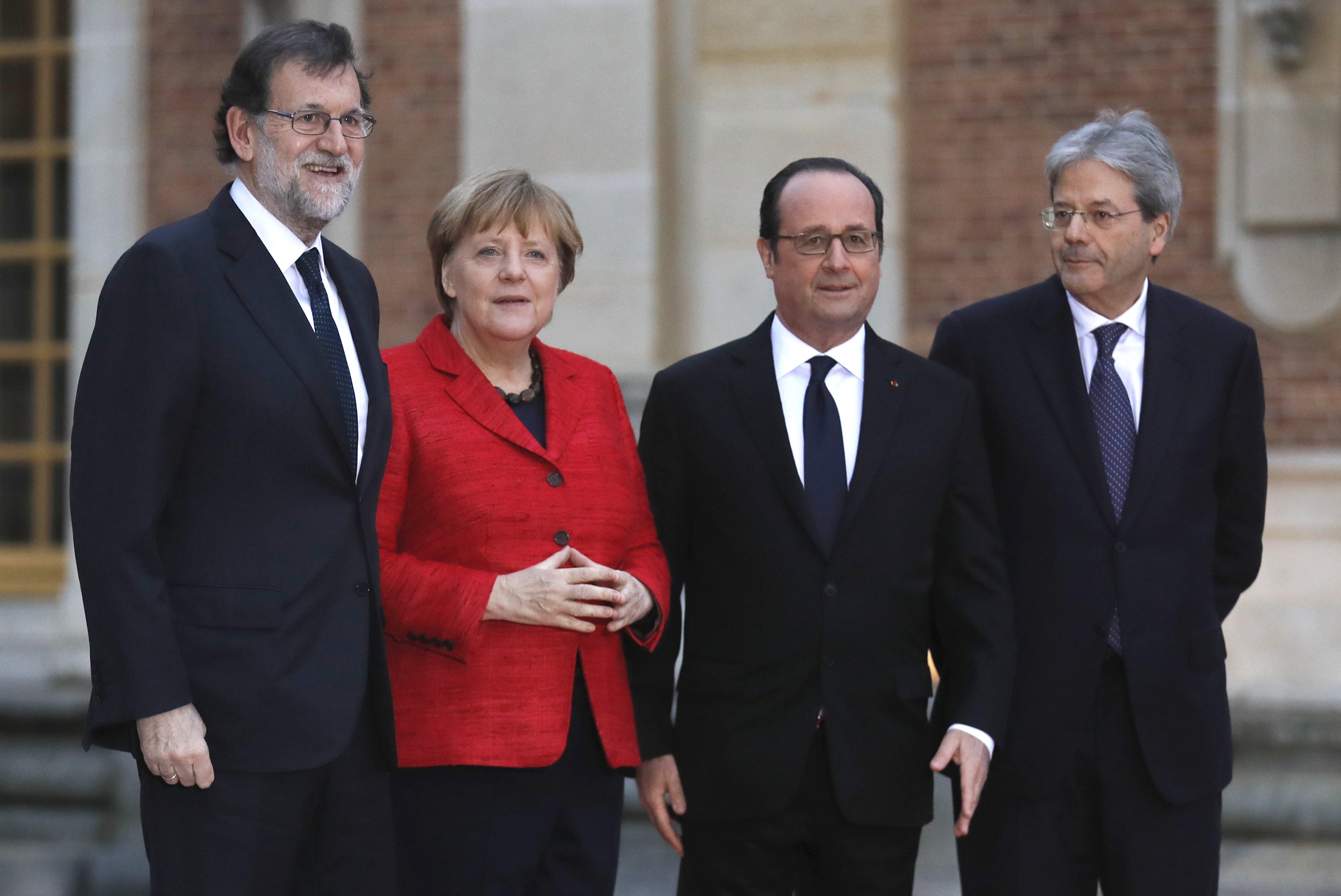 Hollande, Merkel, Rajoy i Gentiloni za Europu više brzina