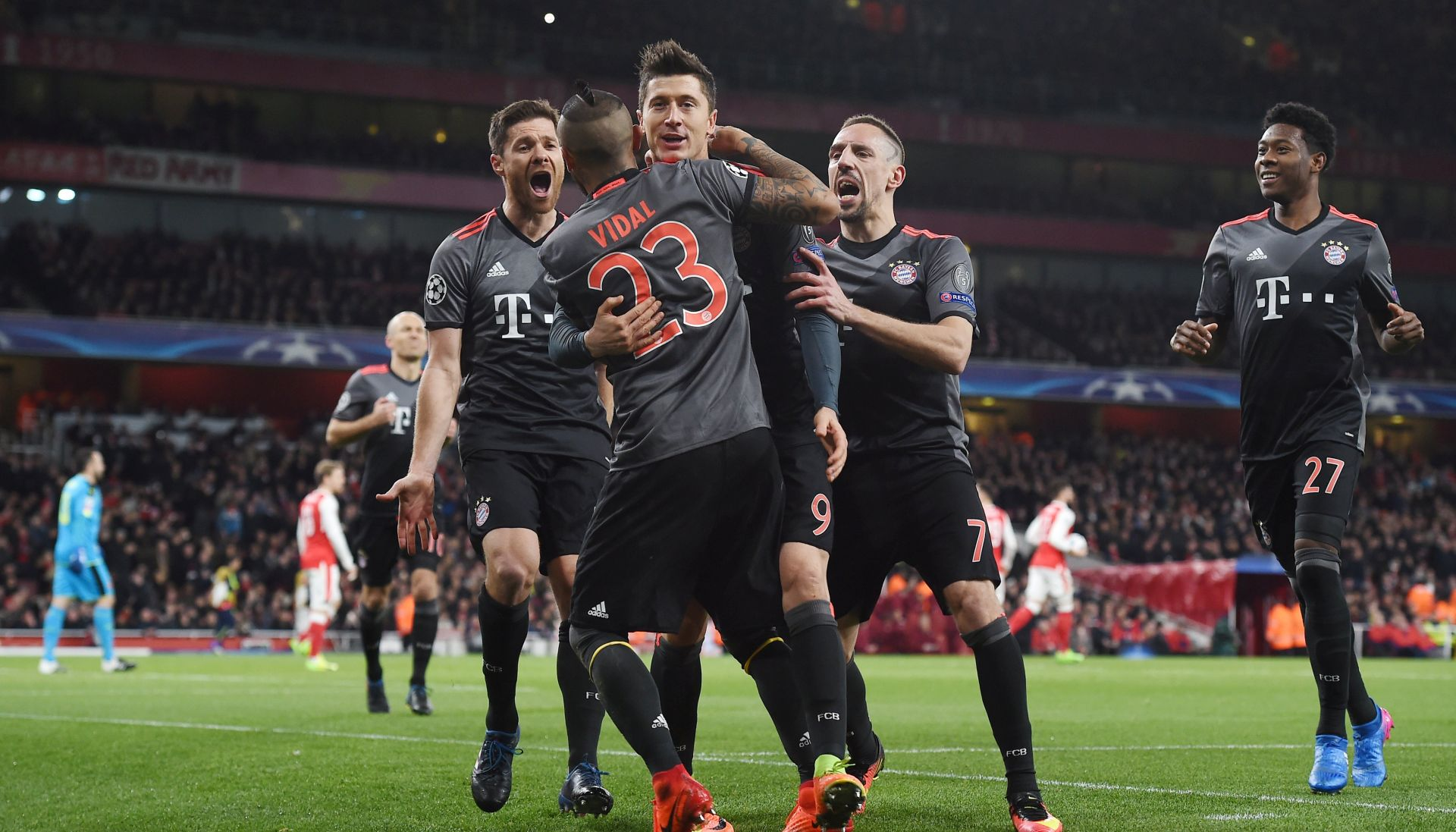 LP Arsenal – Bayern 1-5