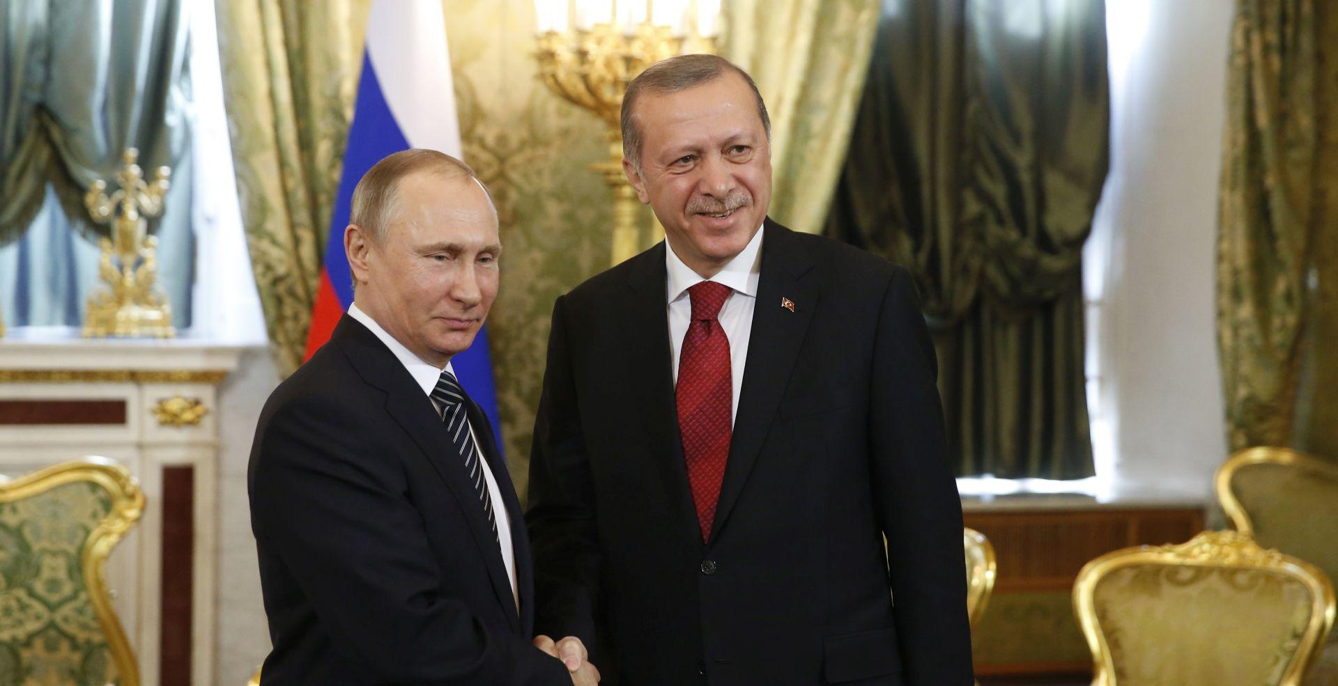 Putin i Erdogan najavili jačanje vojne suradnje u Siriji