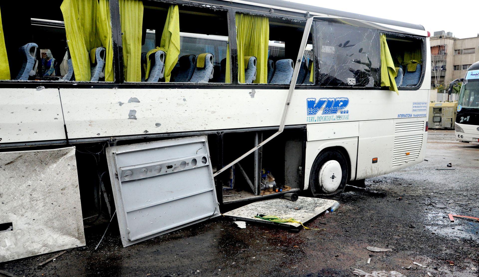 Sirijski savez džihadista preuzeo odgovornost za dvostruki napad u Damasku