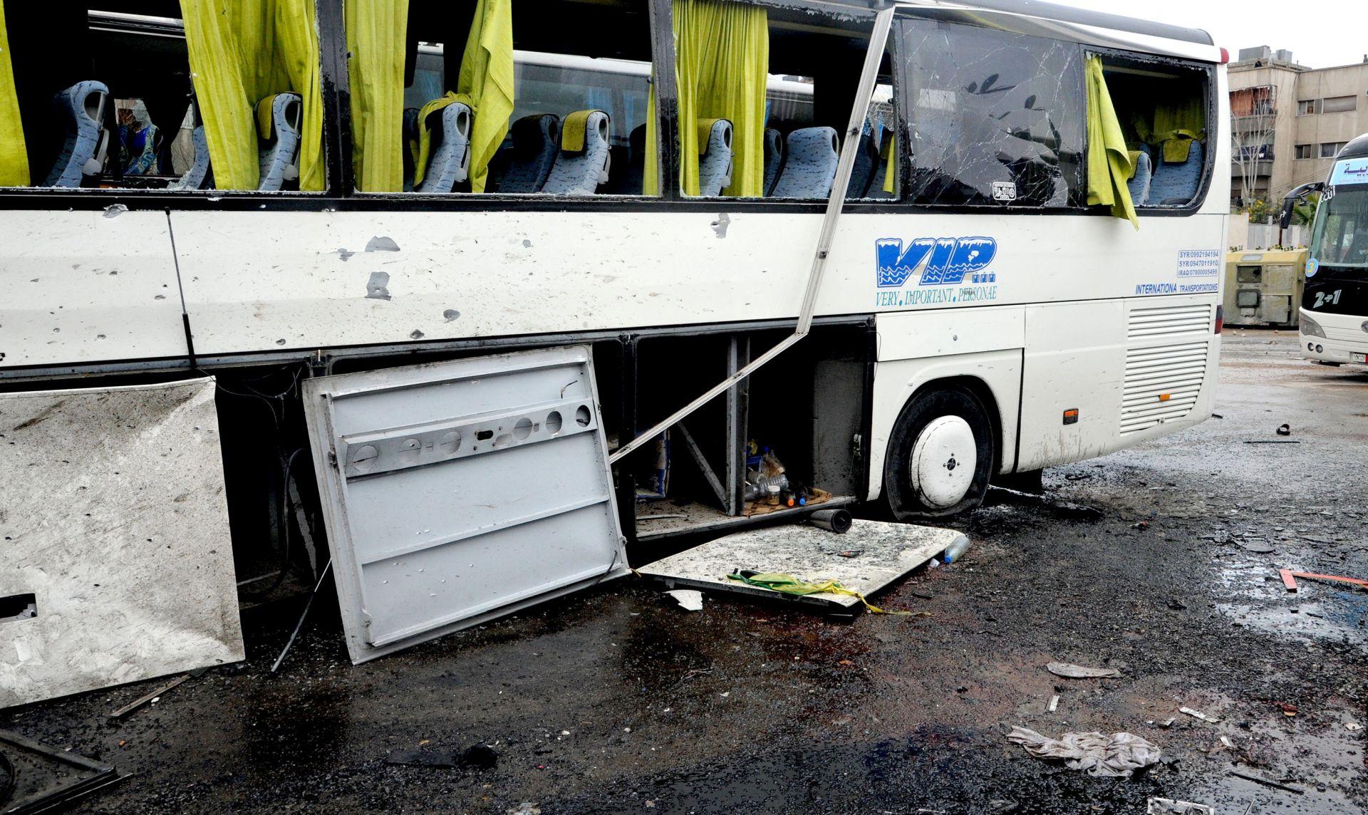 U krvoproliću u Damasku 46 mrtvih, većinom šijitskih hodočasnika