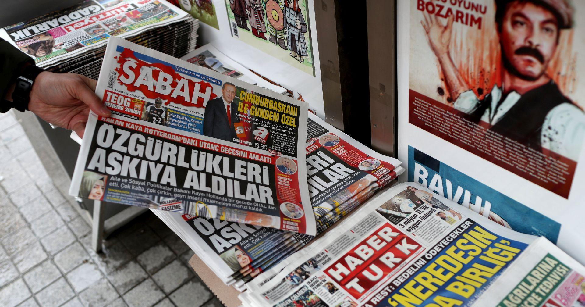 Turska neće dopustiti povratak nizozemskom veleposlaniku u Ankaru