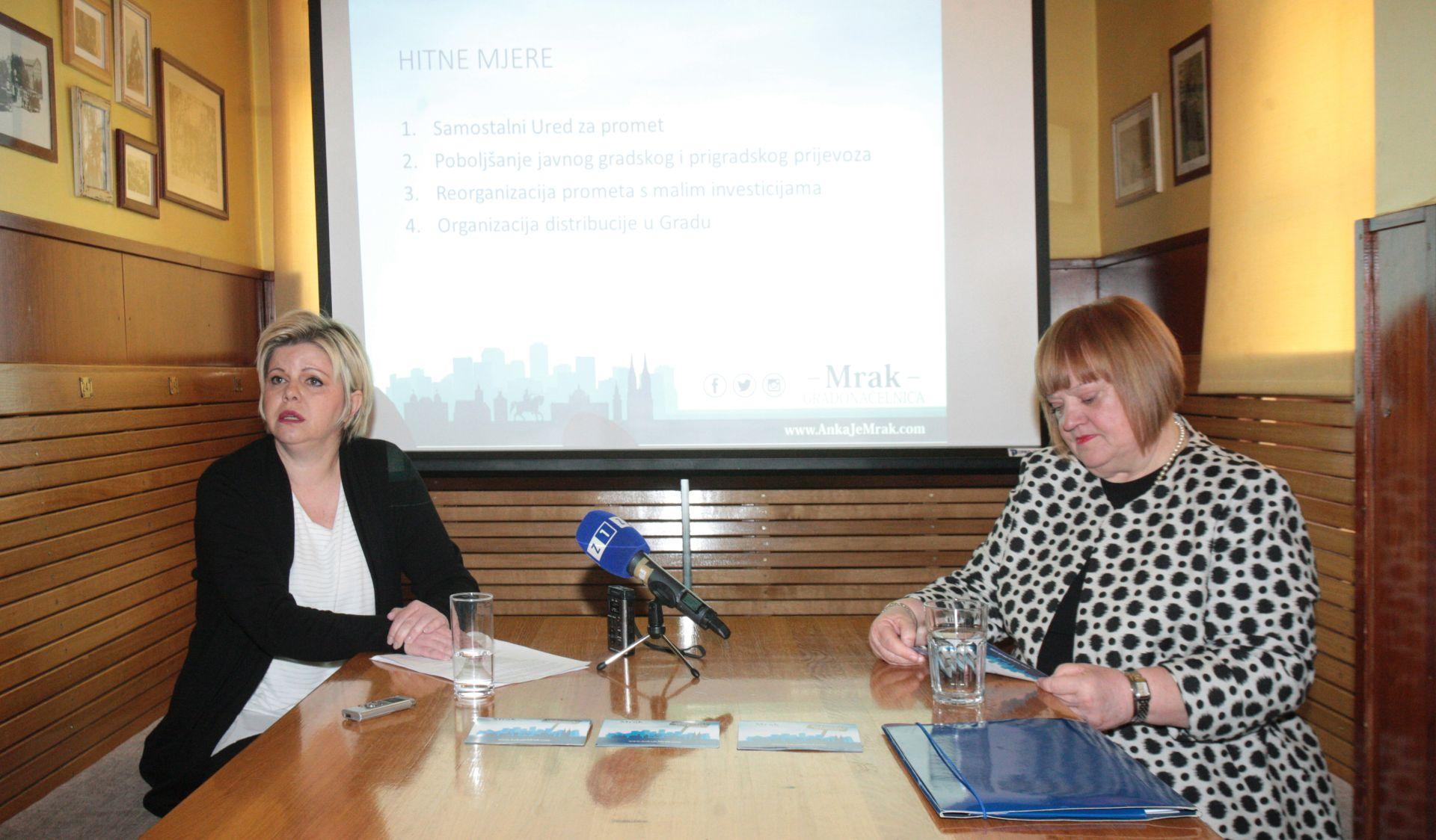 Mrak-Taritaš predstavila program upravljanja prometom u Zagrebu