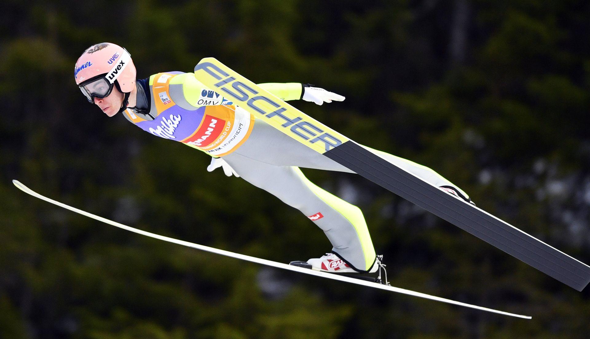 Svjetski rekord Krafta u skijaškim letovima
