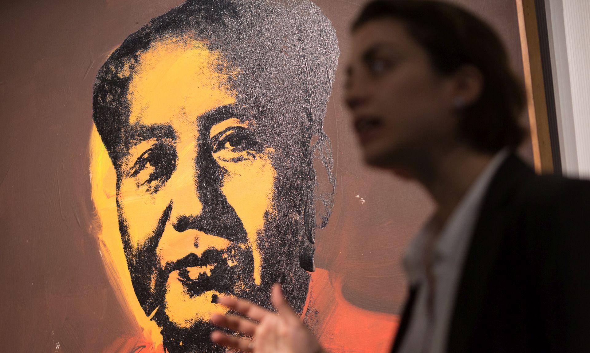 Warholov portret Mao Ce-Tunga na dražbi u Hong Kongu
