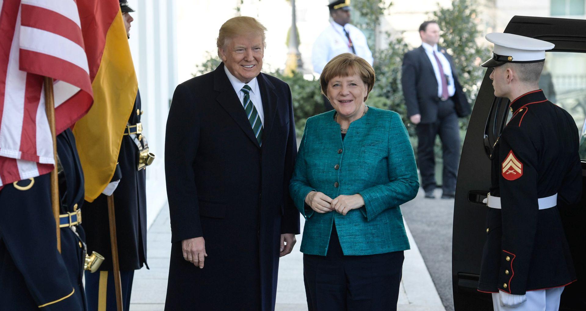 Trump kaže da Njemačka duguje goleme svote NATO-u i SAD-u