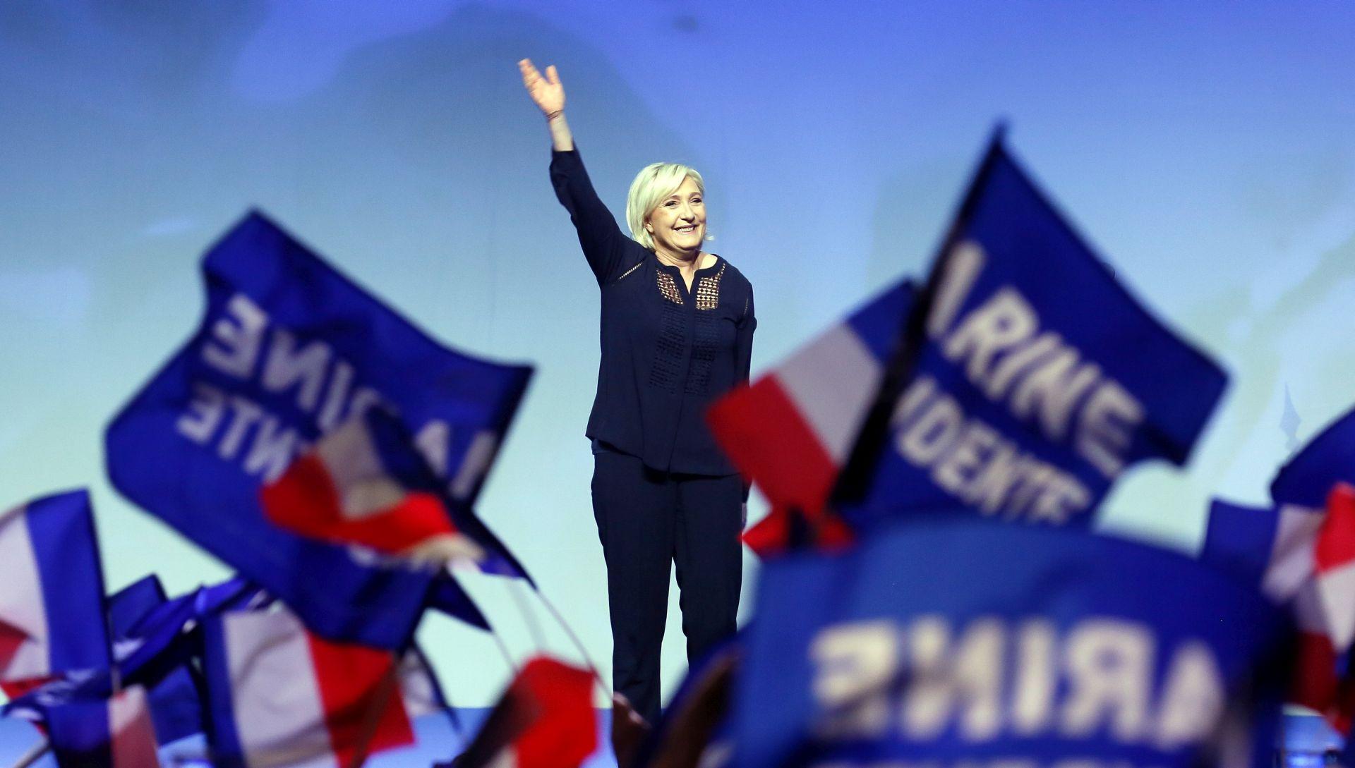 Televizijska debata petero glavnih kandidata na francuskim predsjedničkim izborima