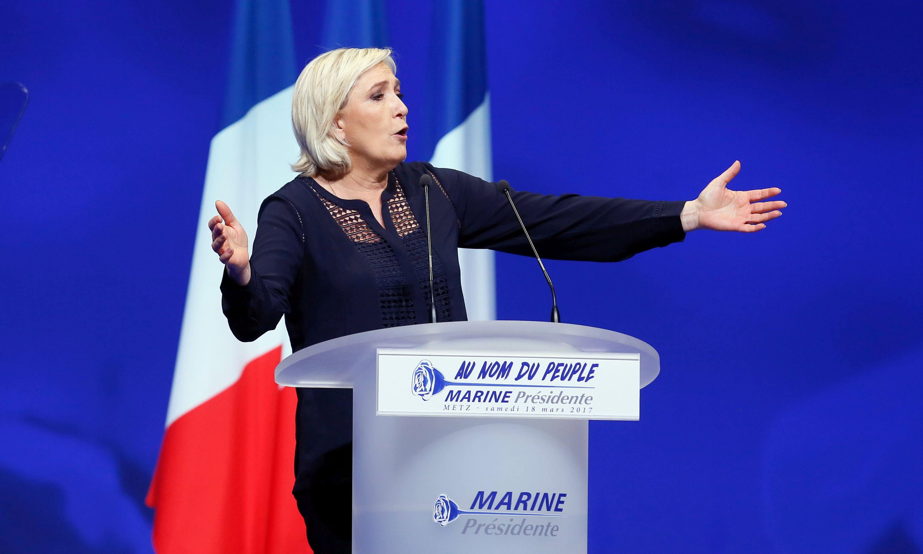 LE PEN 'Želim sretnu Europu punu boja'