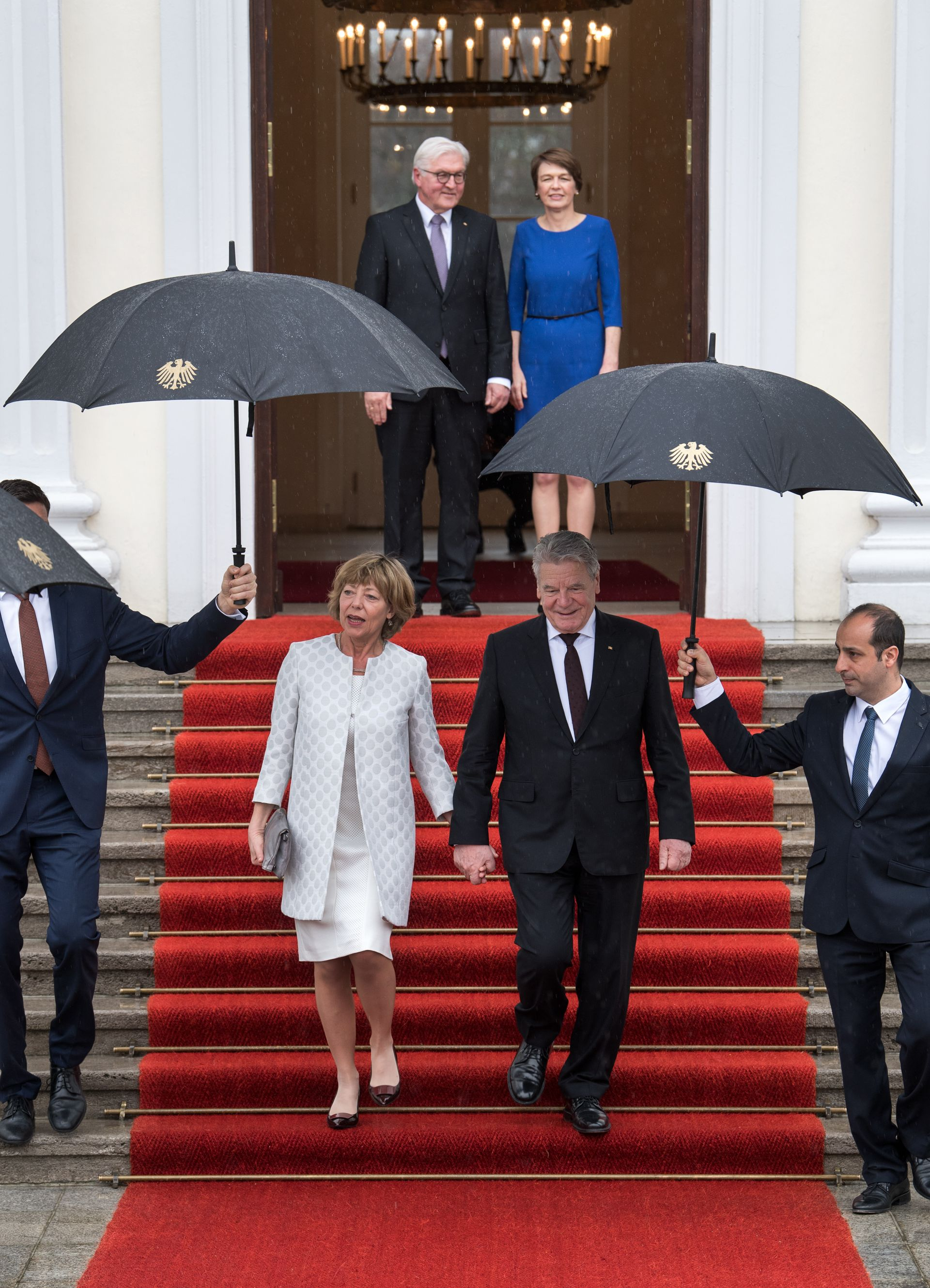 NJEMAČKA Gauck simbolično predao vlast Steinmeieru