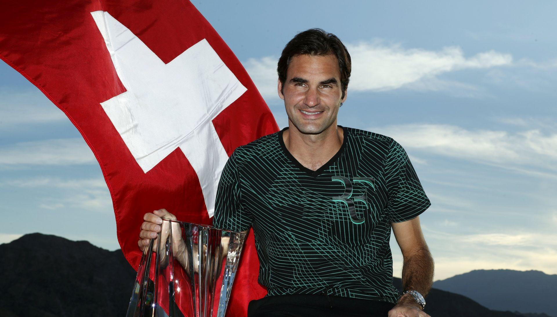 INDIAN WELLS Slavlje Federera u švicarskom finalu, srušio i dva rekorda