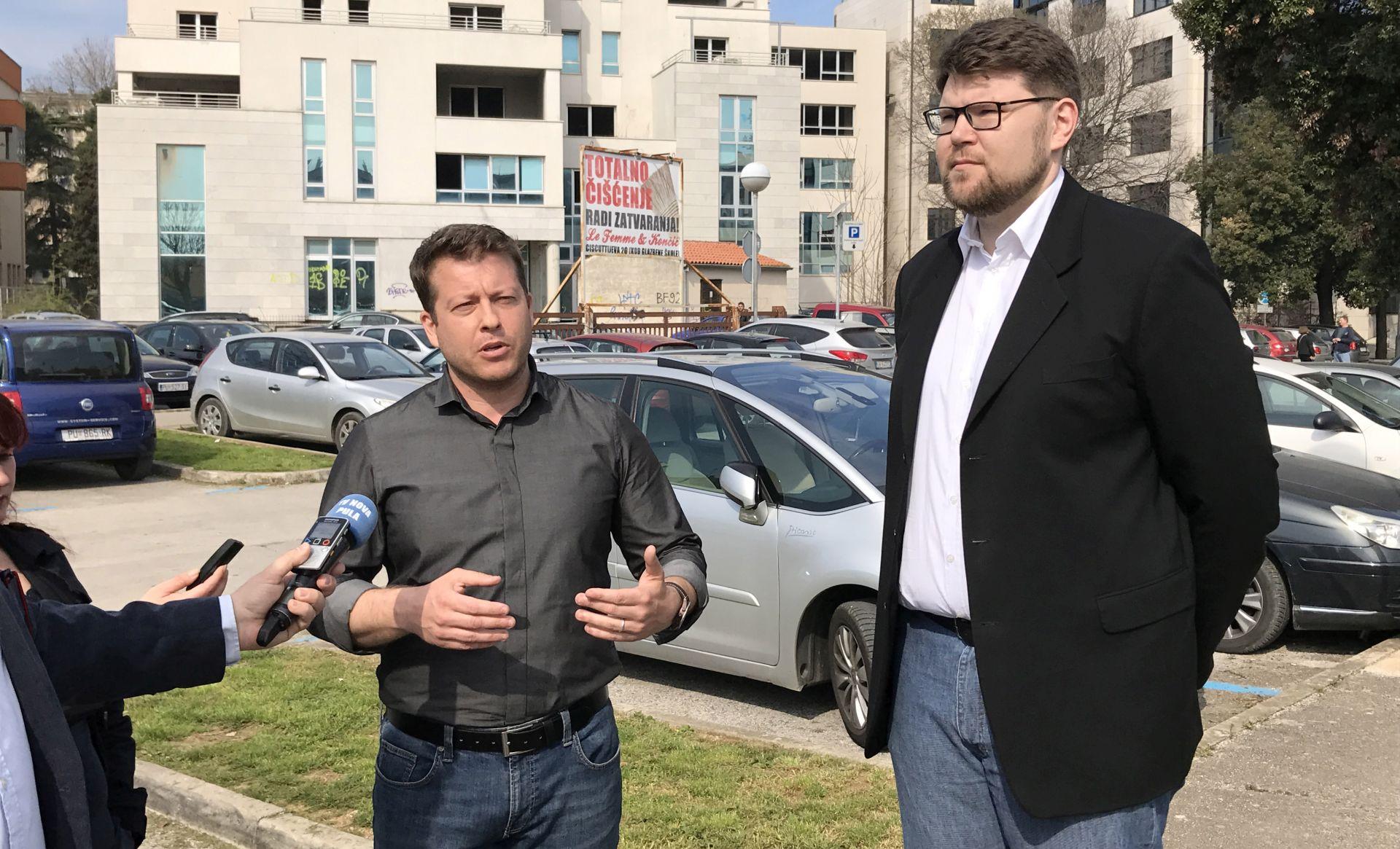 Licul i Grbin o nerealiziranim obećanjima pulske gradske uprave