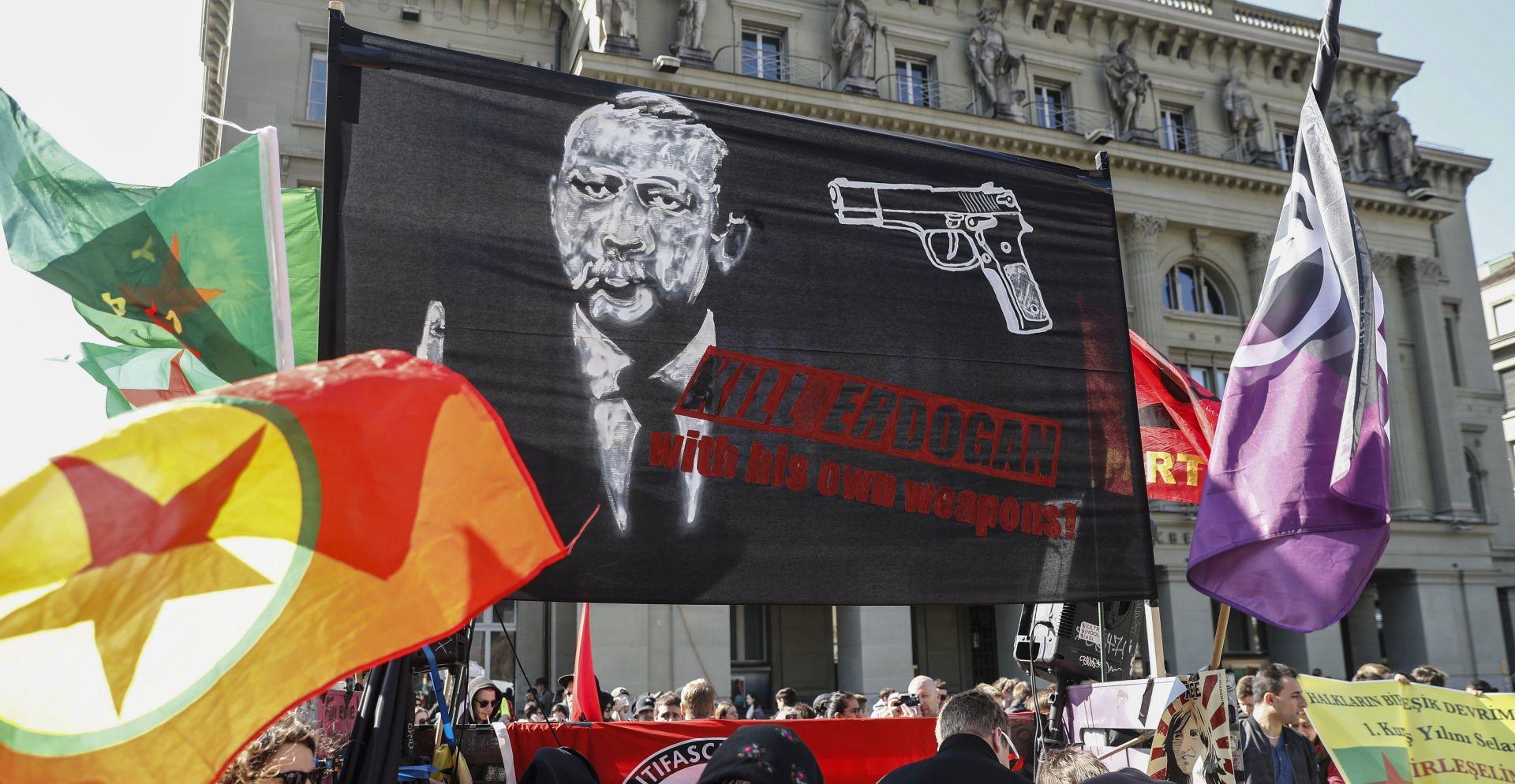 Turska pozvala švicarskog otpravnika poslova zbog skupa u Bernu