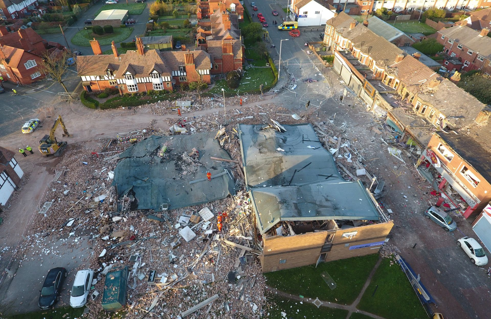 Nekoliko desetaka ozlijeđenih u eksploziji pored Liverpoola