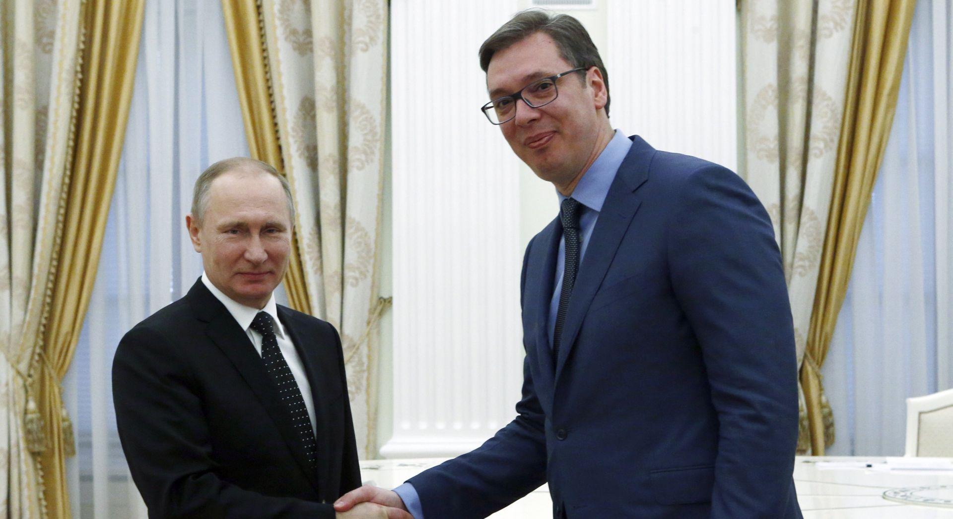 Sastanak Putina i Vučića u Moskvi, Srbija očekuje vojnu pomoć