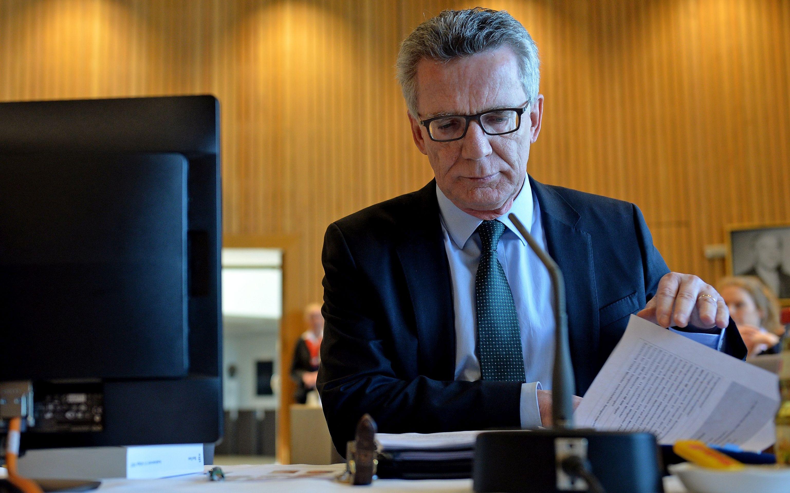 De Maiziere tvrdi da je bilo moguće spriječiti atentatora na berlinski božićni sajam