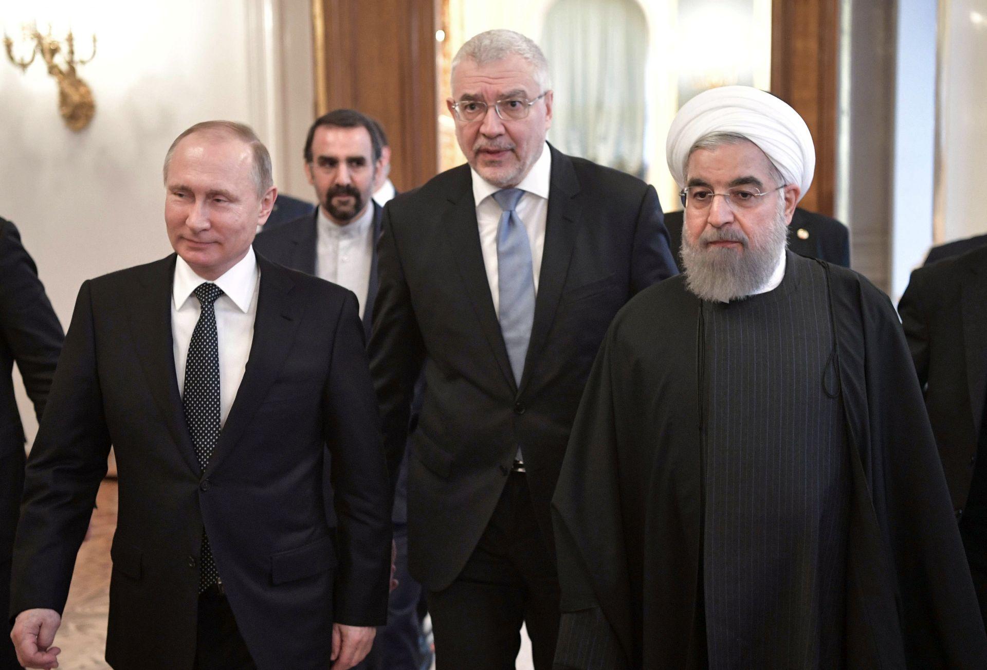 Putin i Rohani o bilateralnim odnosima i Siriji