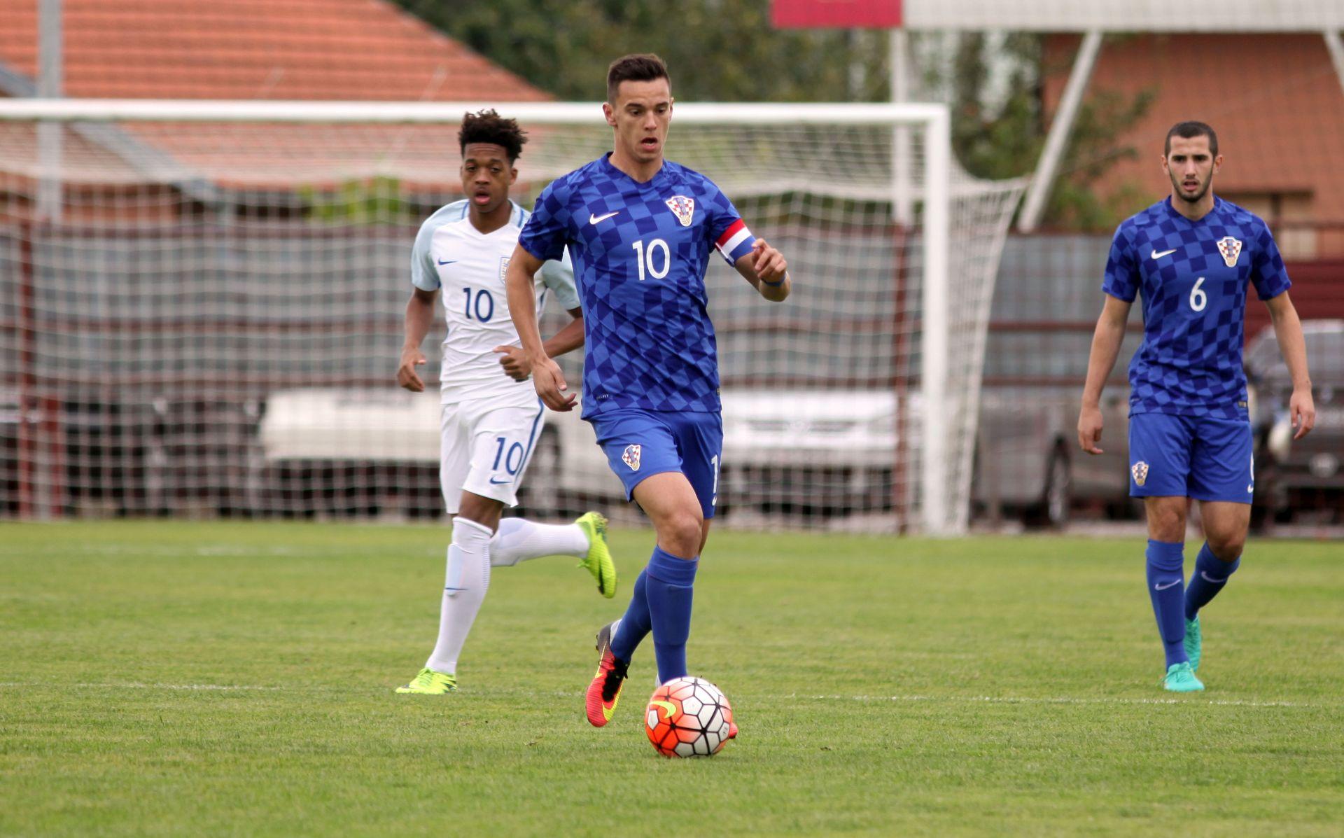 Poraz Hrvatske U-19 reprezentacije