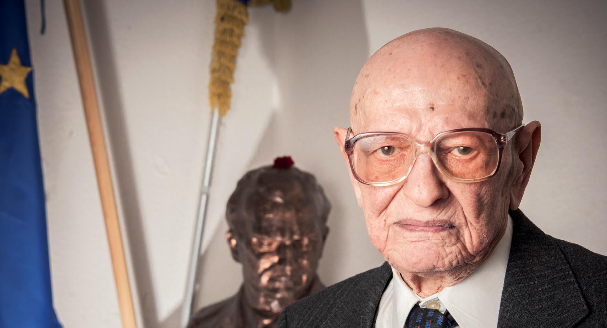 Juraj Hrženjak: Nakon sto godina života tvrdim – ima Boga, ali na grobu neću križ već partizansku zvijezdu!