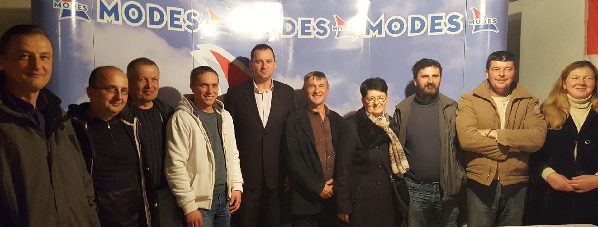 Osnovana podružnica MODES Gračac, predsjednik Marko Bojić