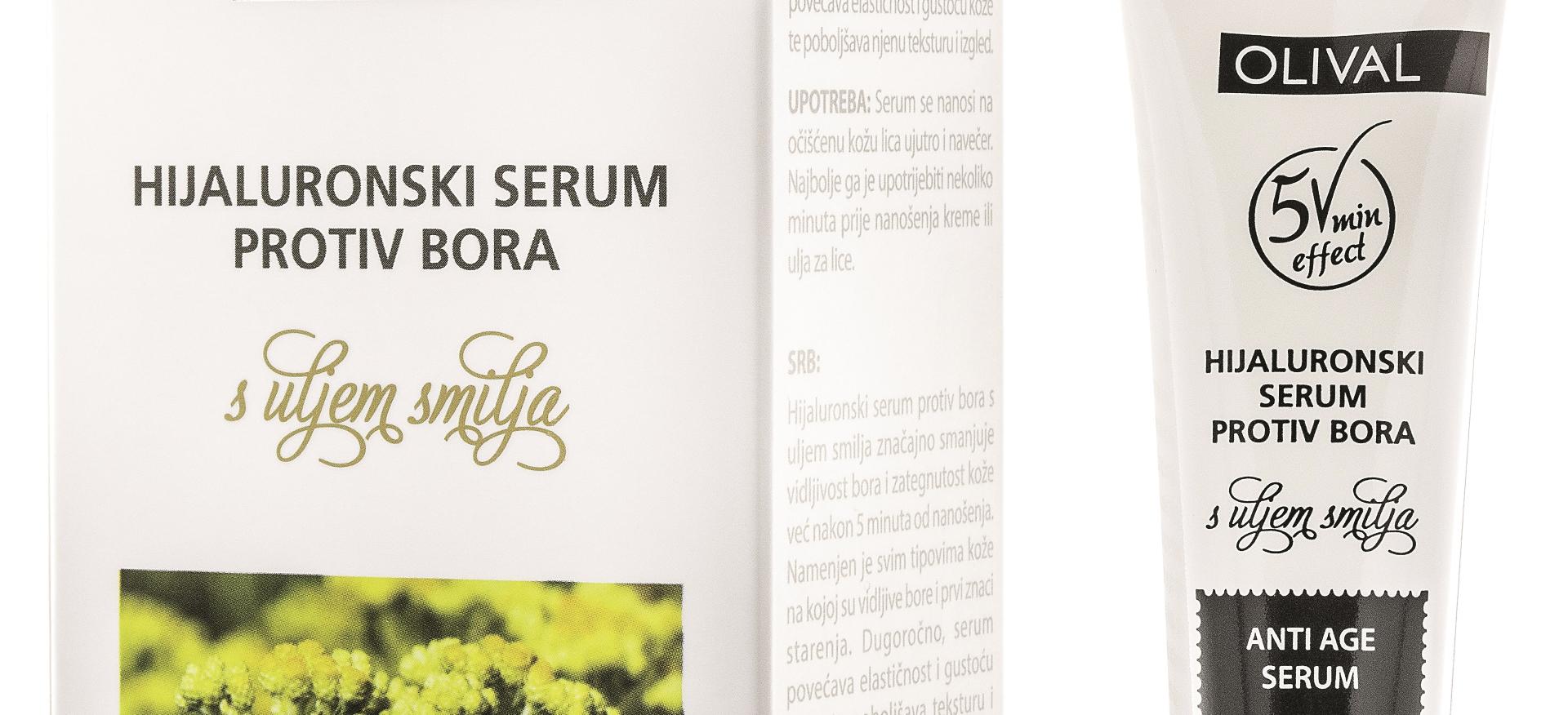 Serum protiv bora s uljem smilja