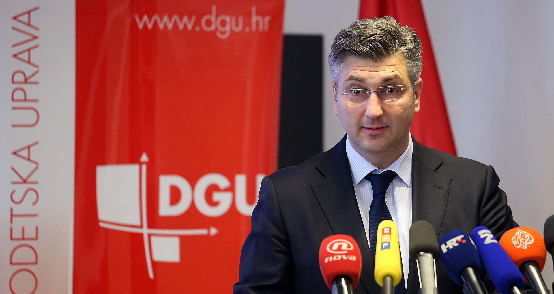 Plenković komentirao 'Aferu brat' i odluku Ustavnog suda