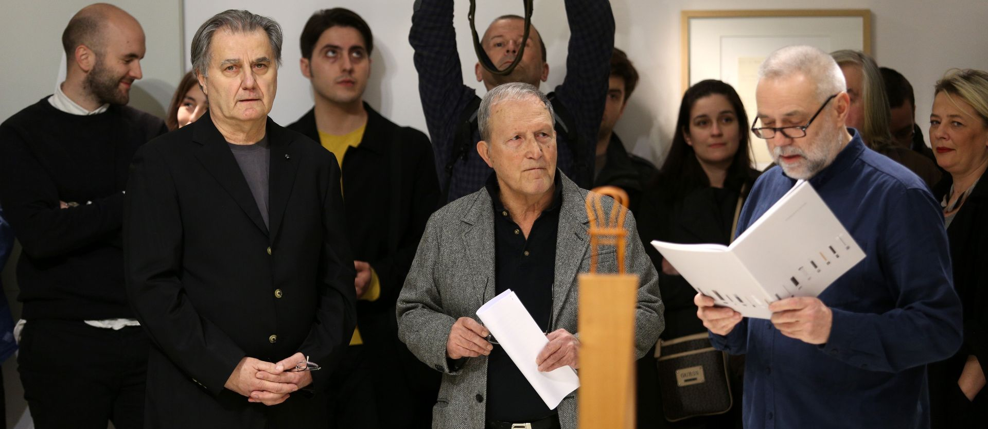 """Otvorena izložba arhitekta Nenada Fabijanića """"Mit mijene"""""""