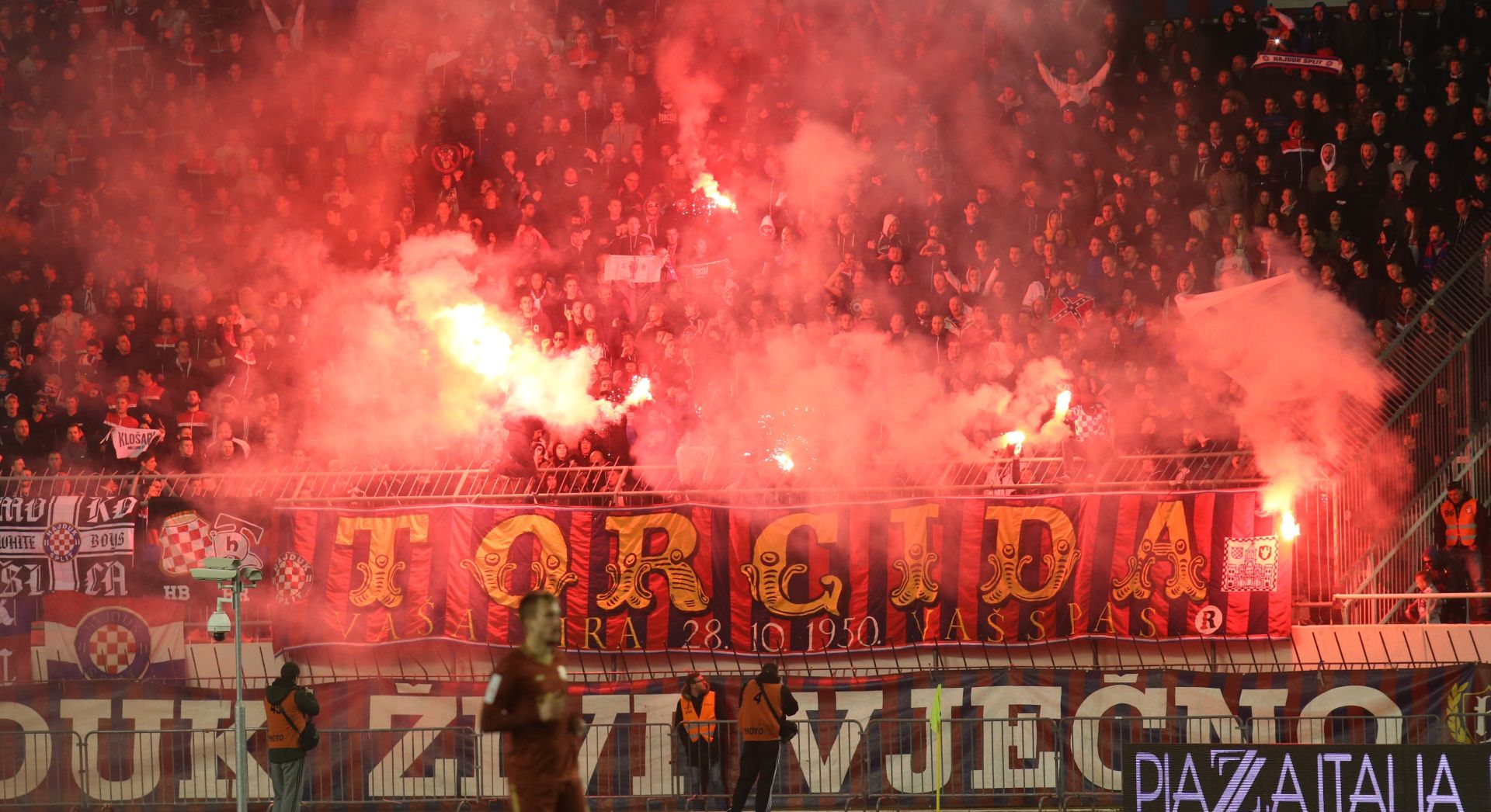 Splitski navijači uhićeni zbog poticanja na nasilje i mržnju