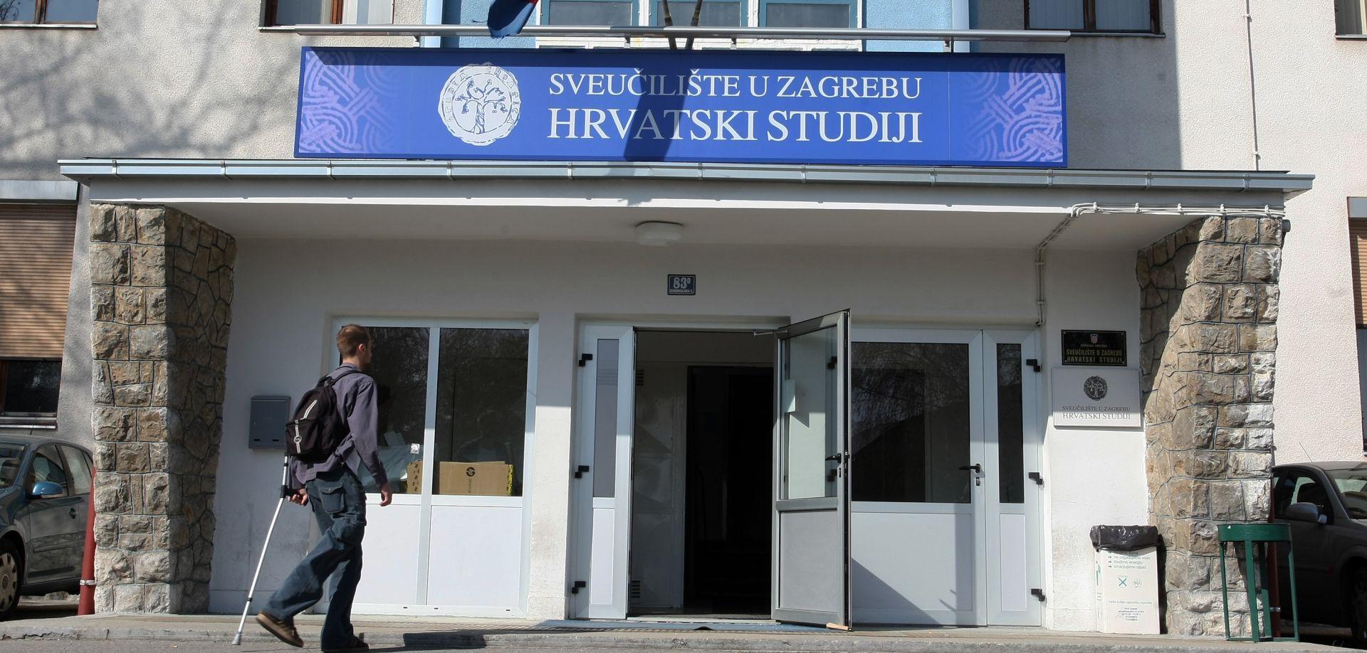 Ukinut studij na kojem rade filozofi koji su prijavili Barišića i Borasa