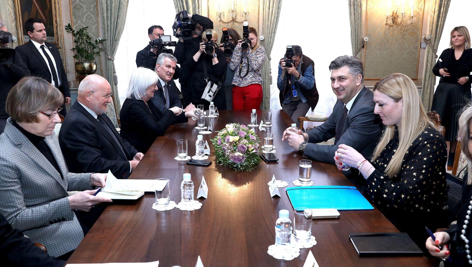 Predsjednik Vlade s izaslanstvom Hrvatskog olimpijskog odbora