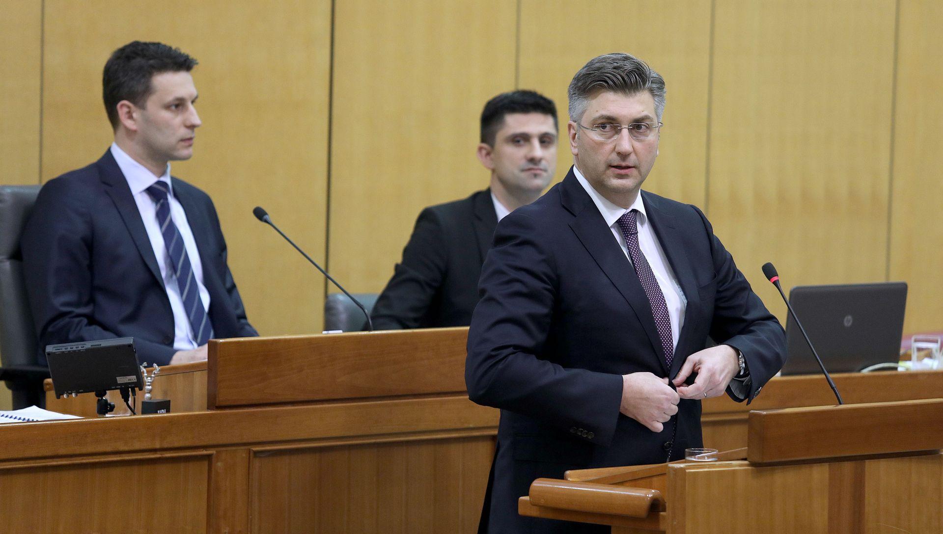 Plenković podnio izvješće u Saboru o sastancima Europskog vijeća