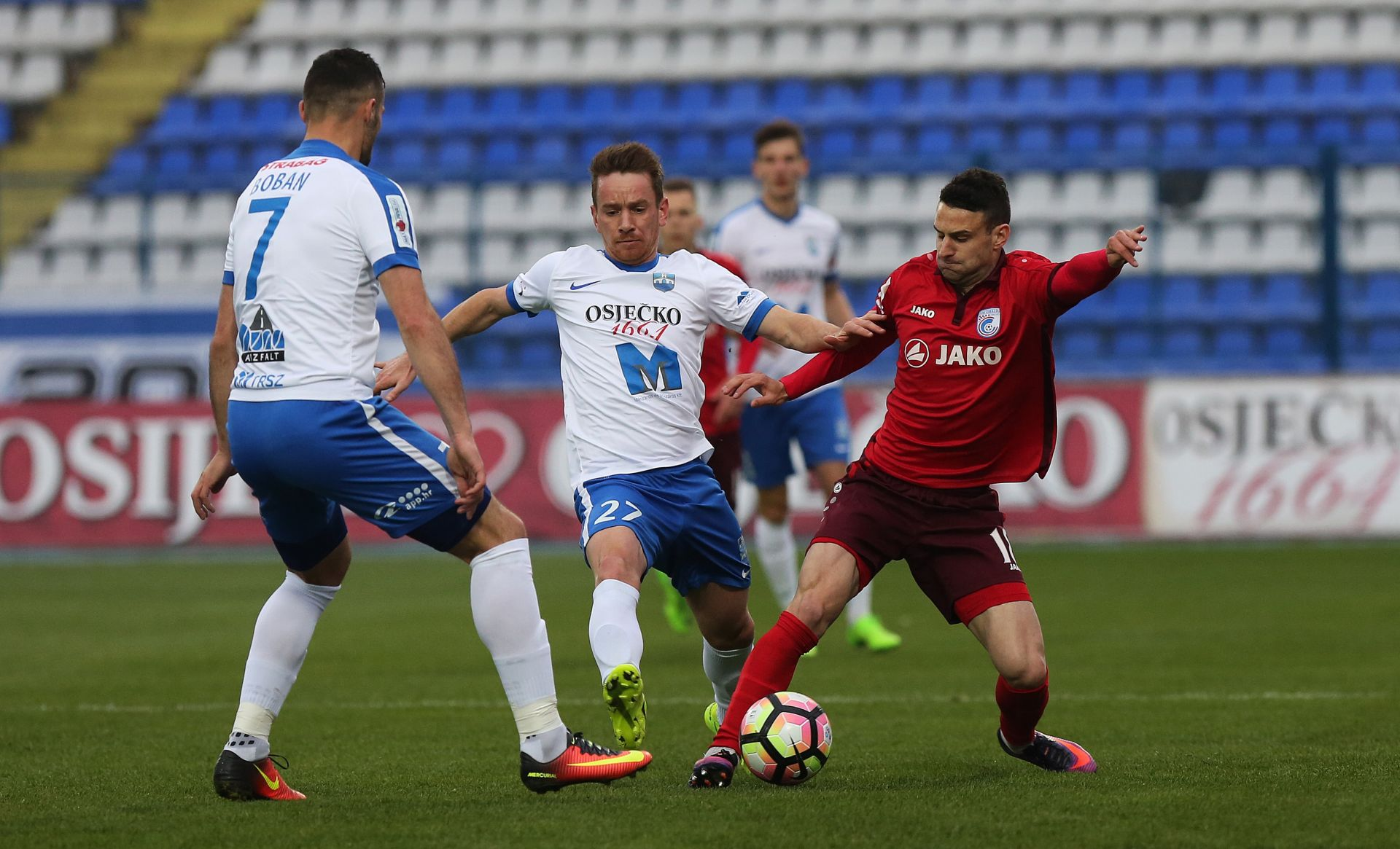 HNL Inter i Split bez golova, Osijek povećao prednost ispred Hajduka
