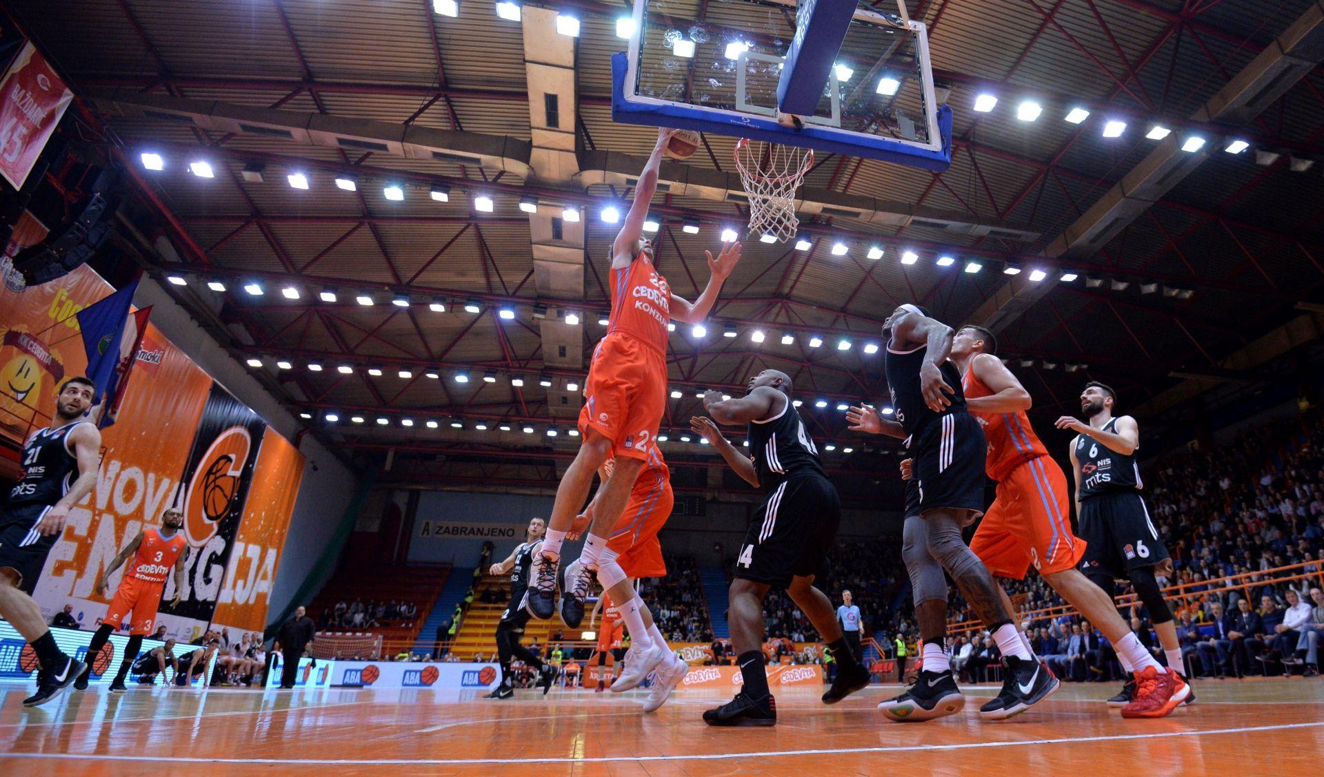 ABA LIGA Cedevita povela protiv Partizana u polufinalu doigravanja