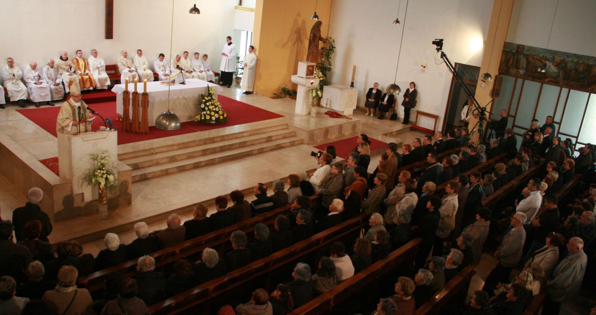Blagdan svetog Josipa u Nacionalnog svetištu svetog Josipa u Karlovcu