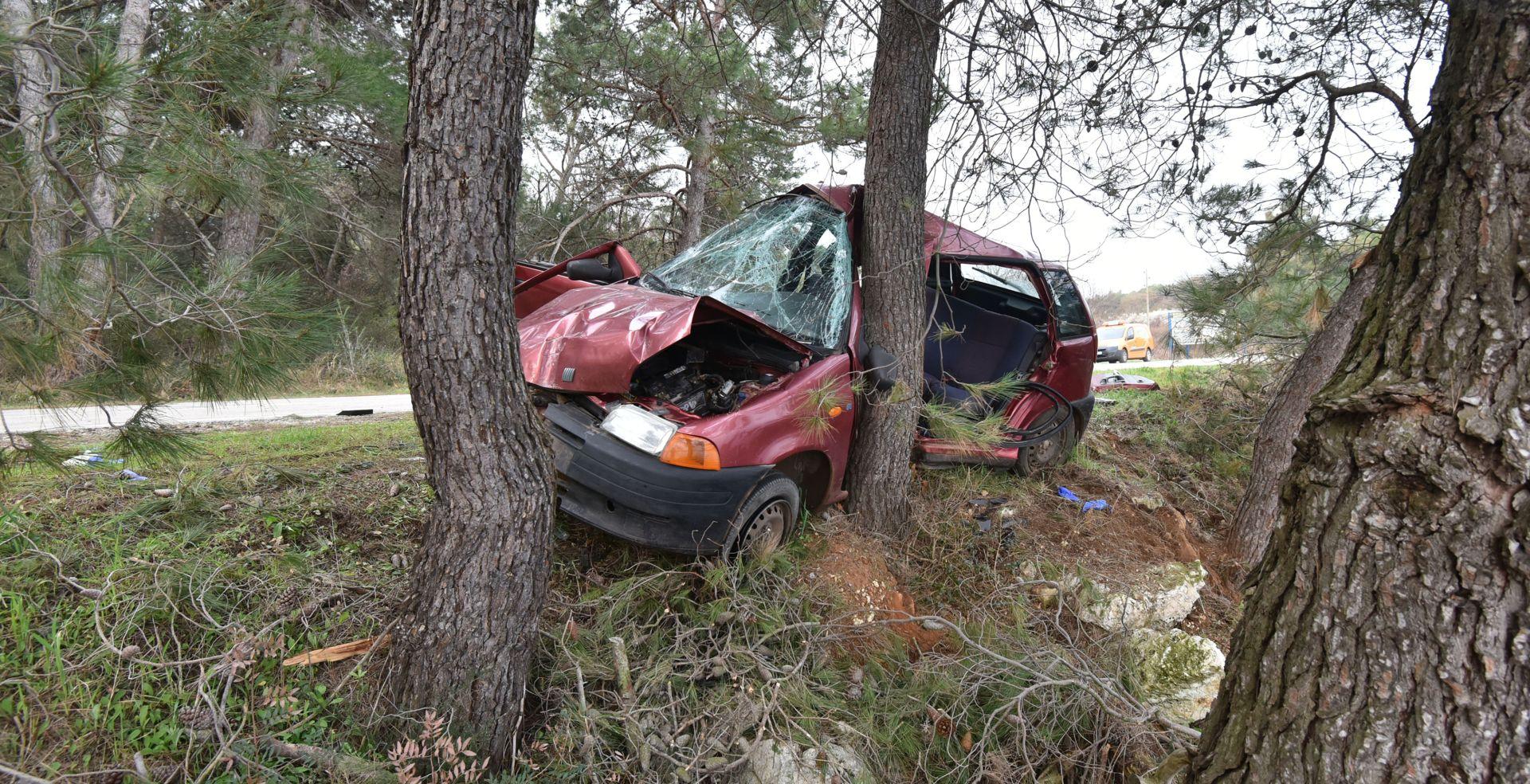 Pulska policija podnijela kaznenu prijavu protiv vozača koji je jutros izazvao nesreću